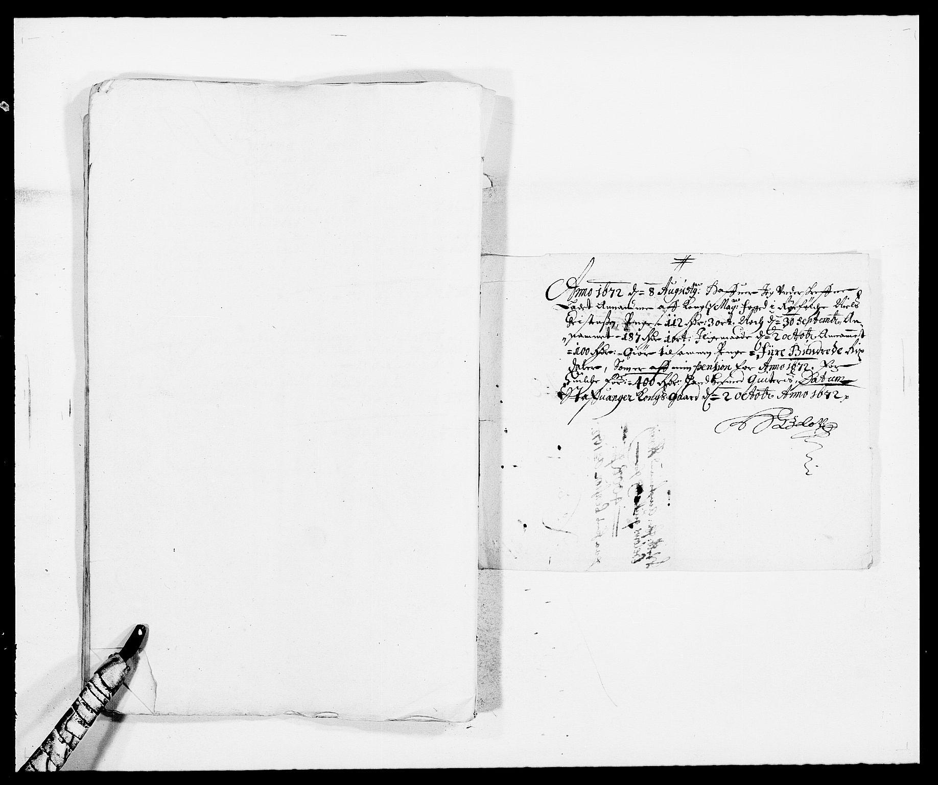 RA, Rentekammeret inntil 1814, Reviderte regnskaper, Fogderegnskap, R47/L2844: Fogderegnskap Ryfylke, 1672-1673, s. 125