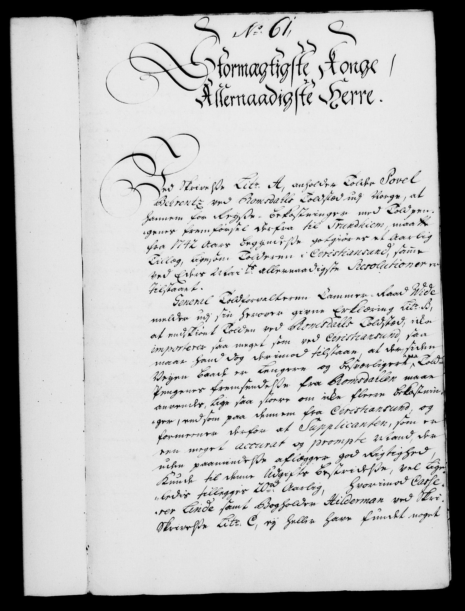 RA, Rentekammeret, Kammerkanselliet, G/Gf/Gfa/L0028: Norsk relasjons- og resolusjonsprotokoll (merket RK 52.28), 1745-1746, s. 363