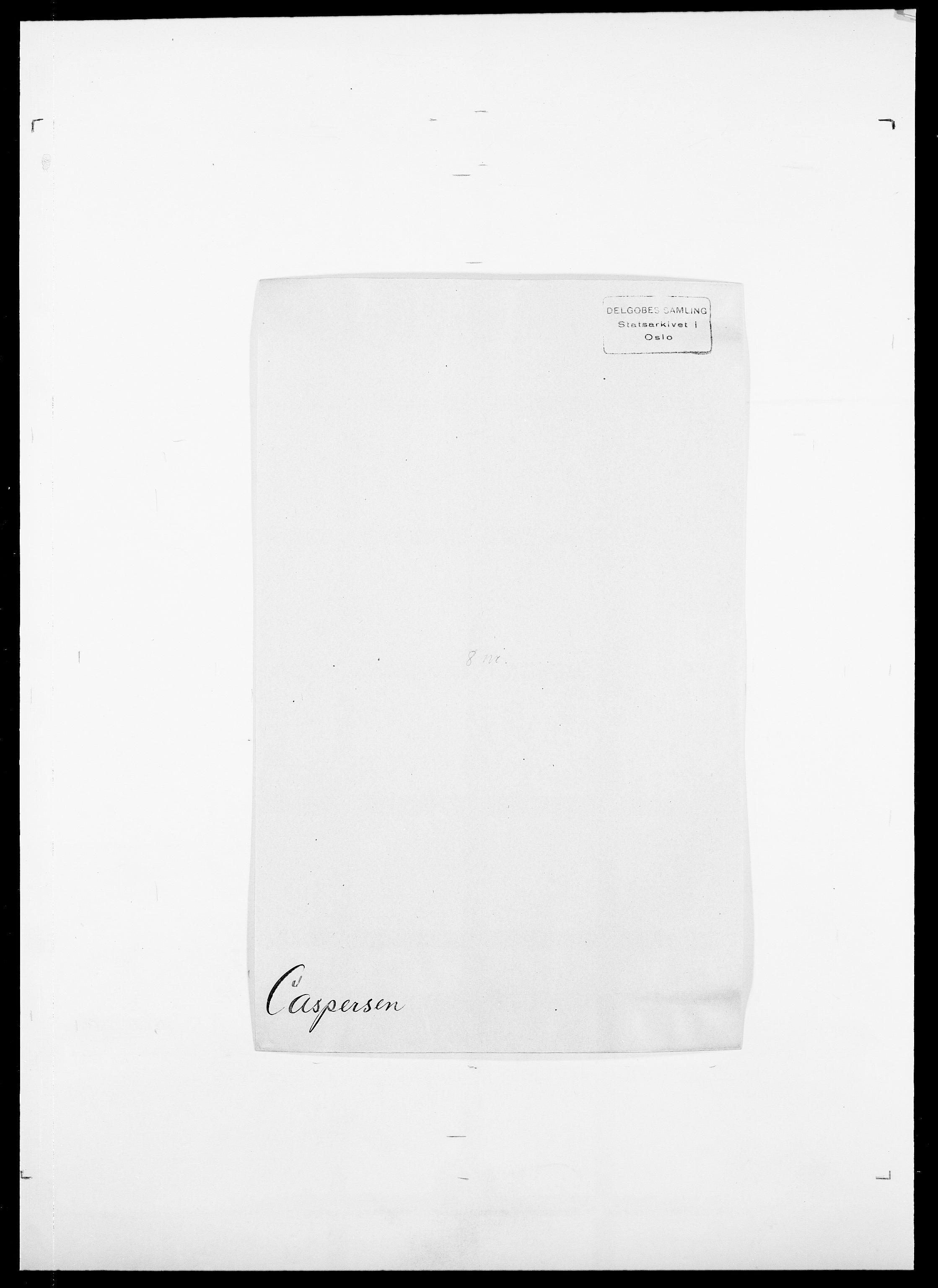 SAO, Delgobe, Charles Antoine - samling, D/Da/L0008: Capjon - Dagenbolt, s. 120