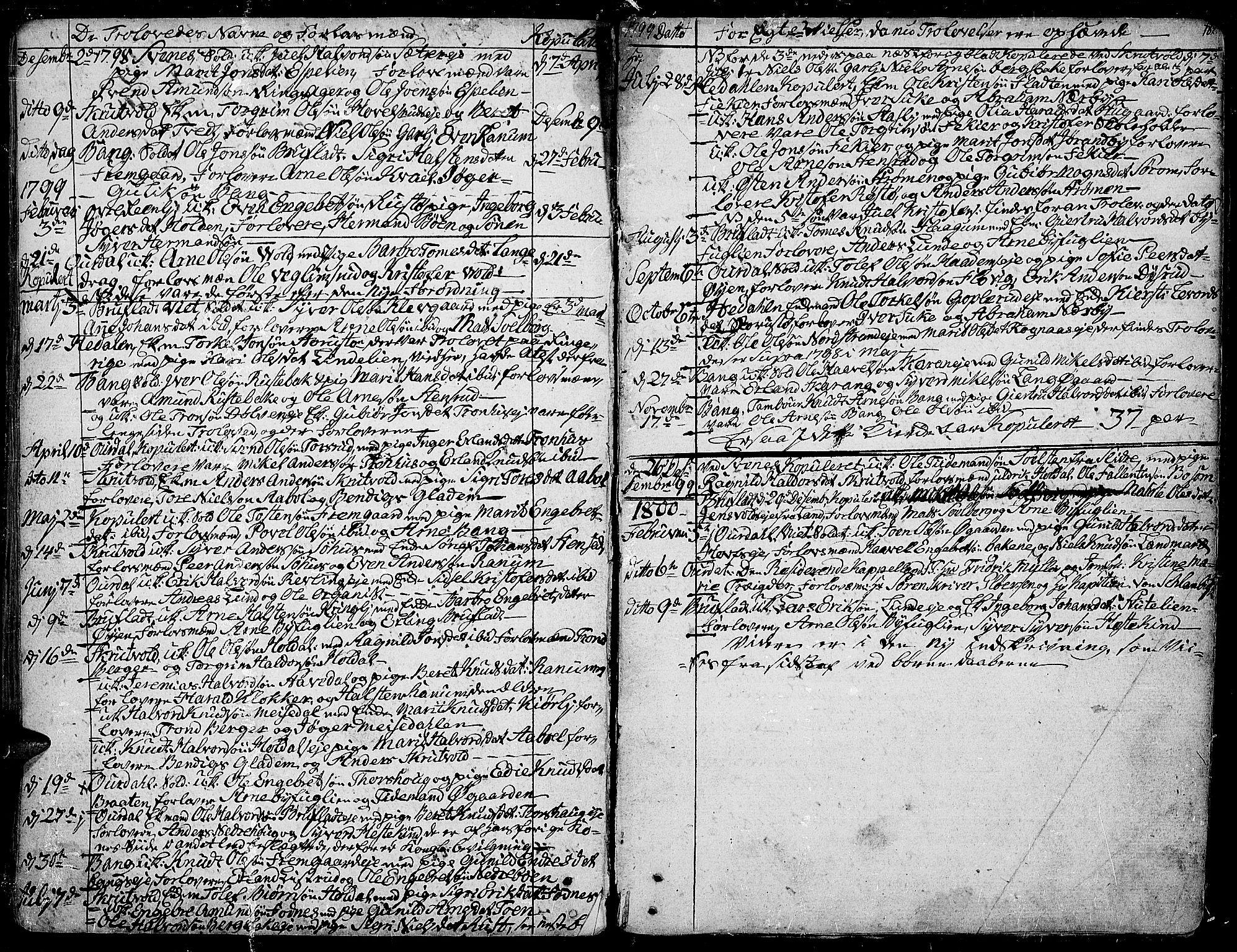 SAH, Aurdal prestekontor, Ministerialbok nr. 6, 1781-1804, s. 182