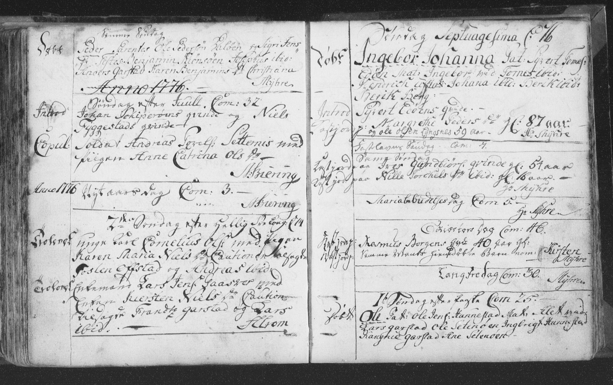 SAT, Ministerialprotokoller, klokkerbøker og fødselsregistre - Nord-Trøndelag, 786/L0685: Ministerialbok nr. 786A01, 1710-1798