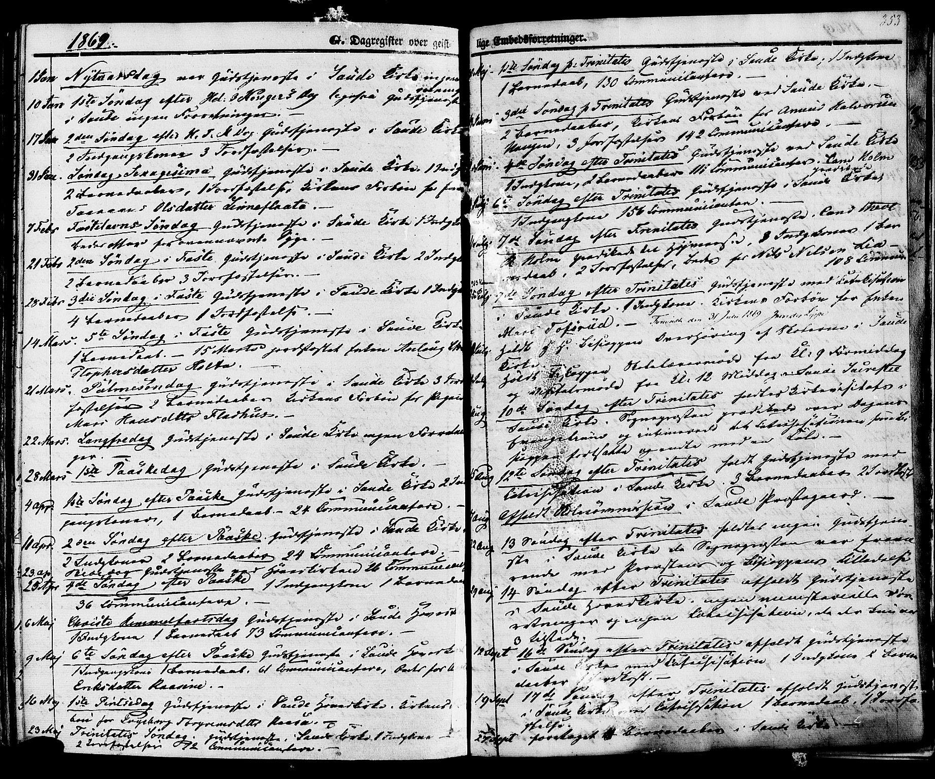 SAKO, Sauherad kirkebøker, F/Fa/L0007: Ministerialbok nr. I 7, 1851-1873, s. 353