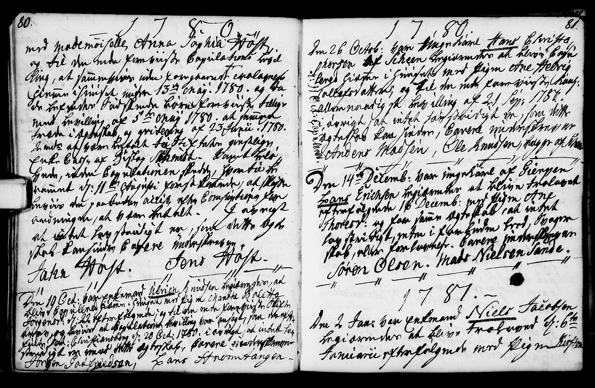 SAKO, Porsgrunn kirkebøker , F/Fa/L0003: Ministerialbok nr. 3, 1764-1814, s. 80-81