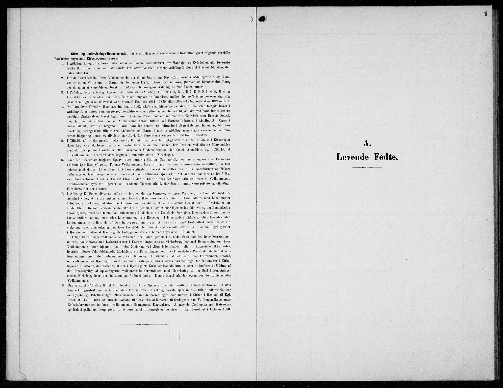 SAKO, Solum kirkebøker, G/Gc/L0002: Klokkerbok nr. III 2, 1902-1934, s. 1