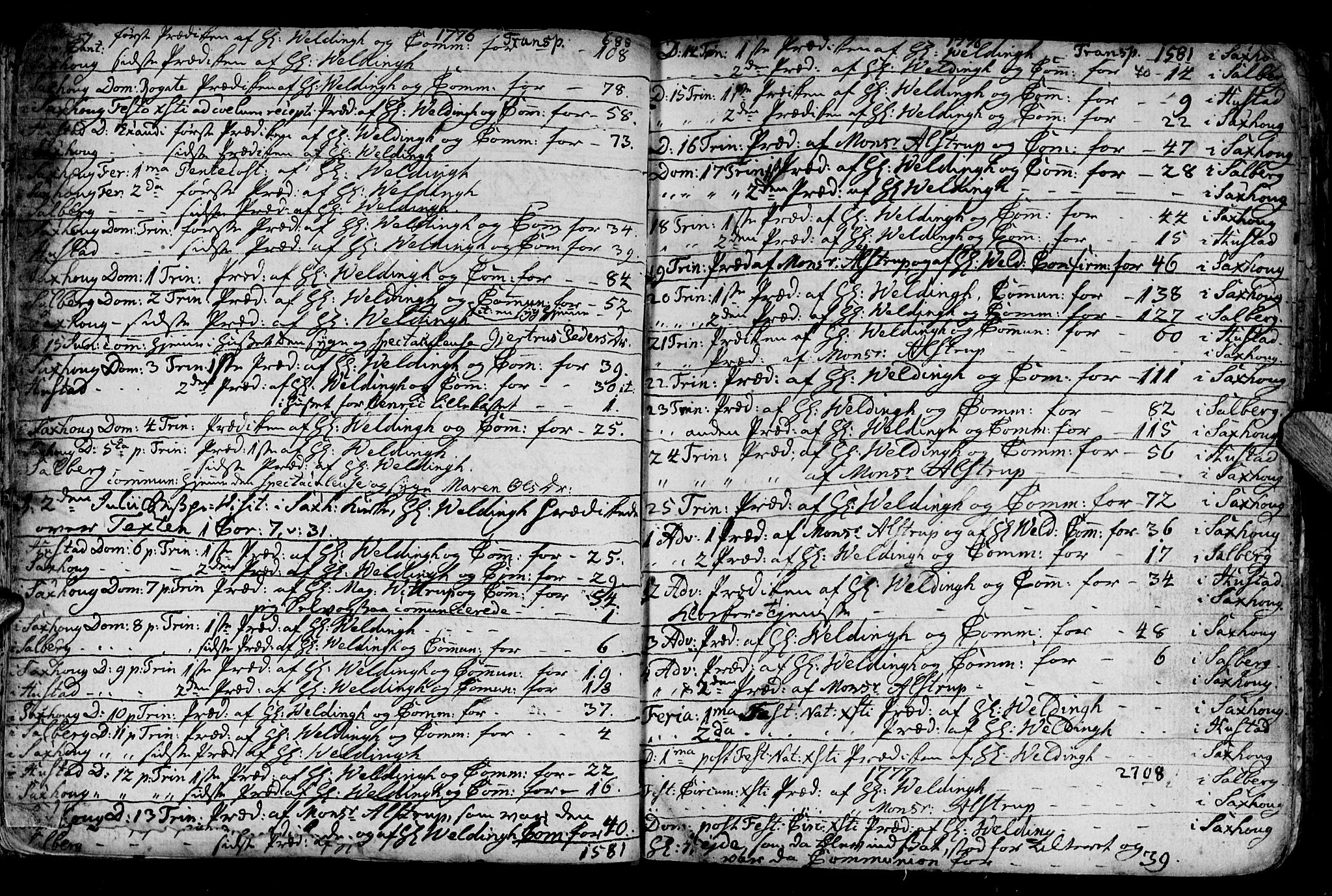 SAT, Ministerialprotokoller, klokkerbøker og fødselsregistre - Nord-Trøndelag, 730/L0273: Ministerialbok nr. 730A02, 1762-1802, s. 40