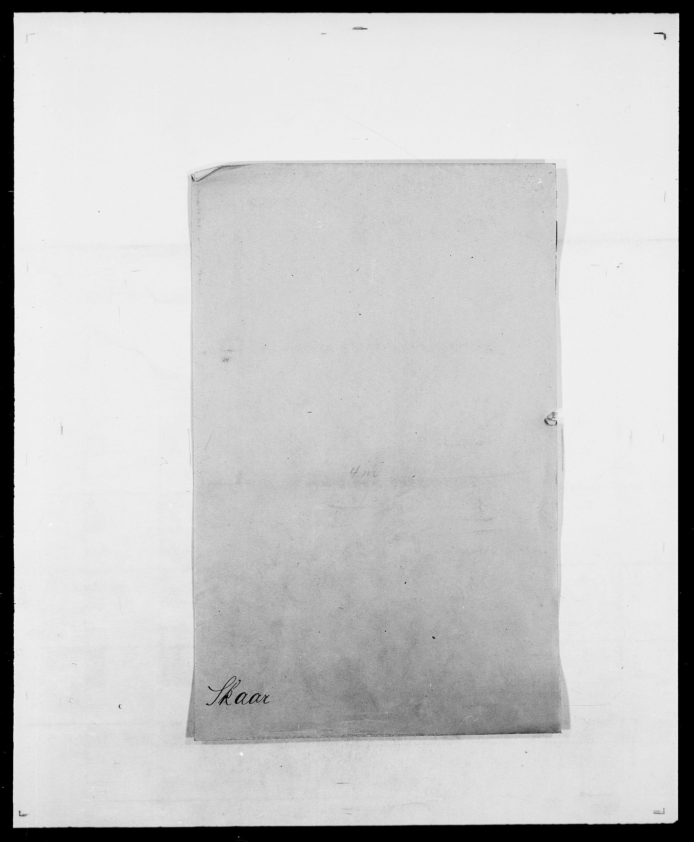 SAO, Delgobe, Charles Antoine - samling, D/Da/L0036: Skaanør - Staverskov, s. 3