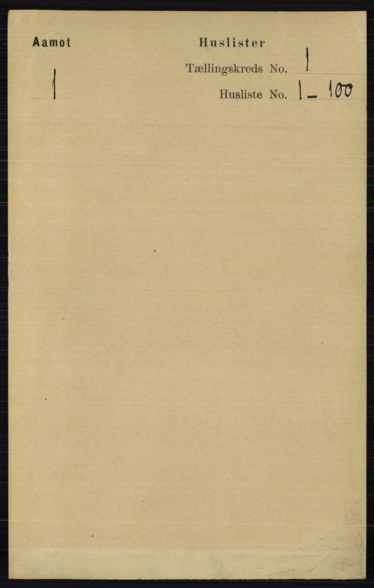 RA, Folketelling 1891 for 0429 Åmot herred, 1891, s. 27