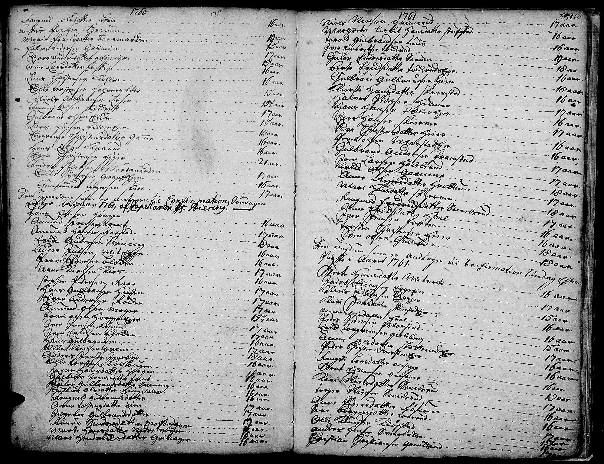SAH, Gran prestekontor, Ministerialbok nr. 4, 1759-1775, s. 256