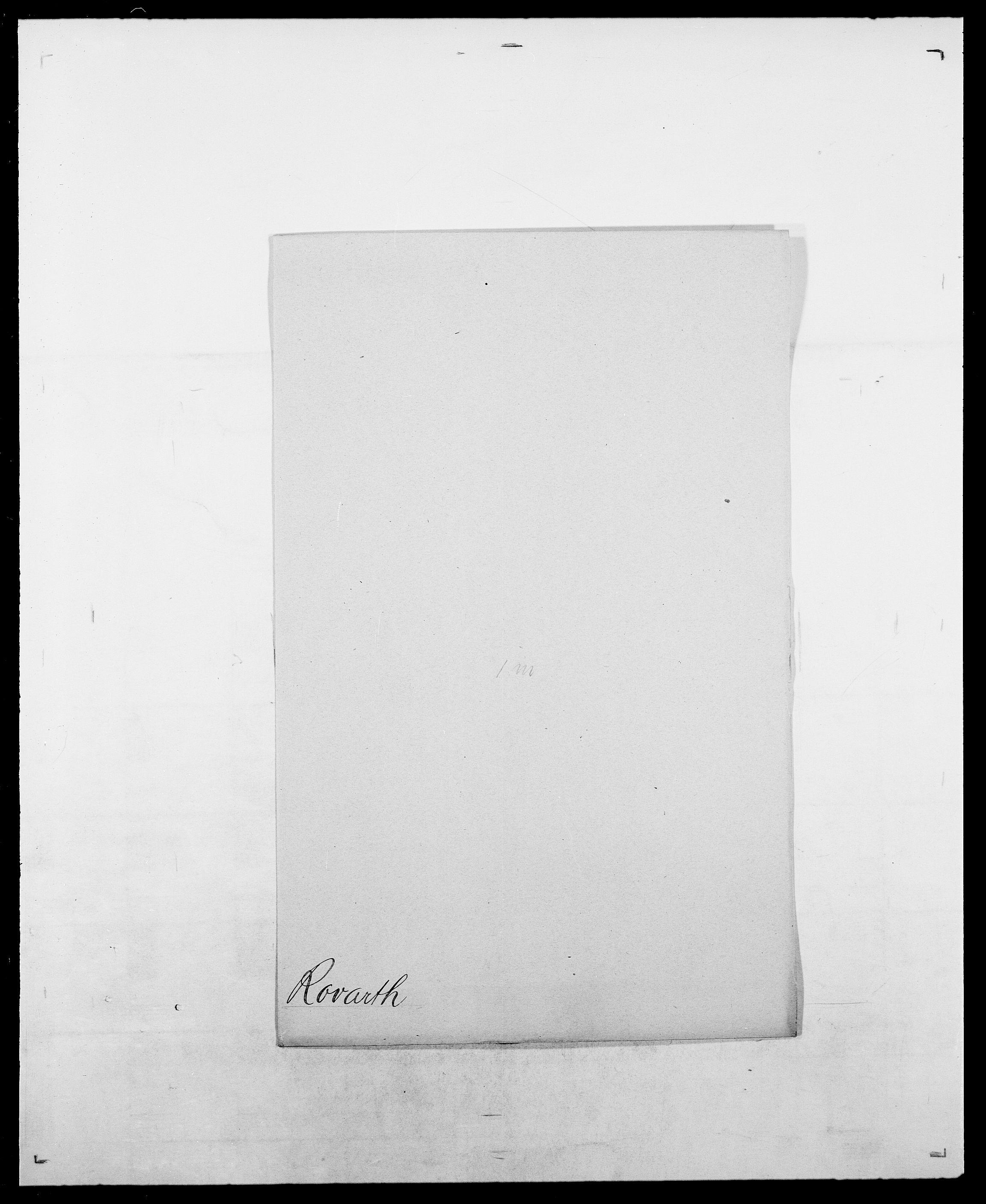SAO, Delgobe, Charles Antoine - samling, D/Da/L0033: Roald - Røyem, s. 407