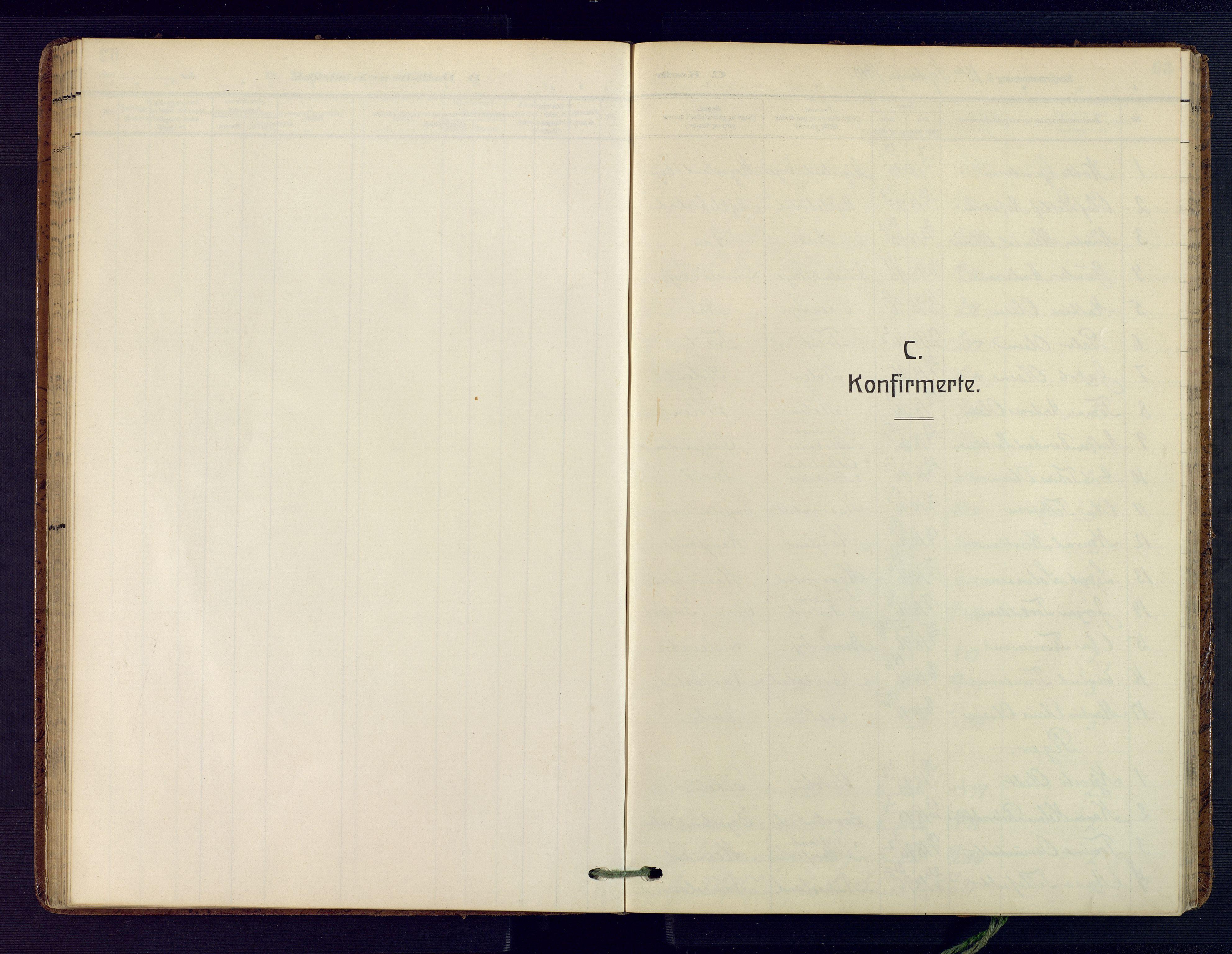 SAK, Herefoss sokneprestkontor, F/Fa/Fab/L0005: Ministerialbok nr. A 5, 1910-1932