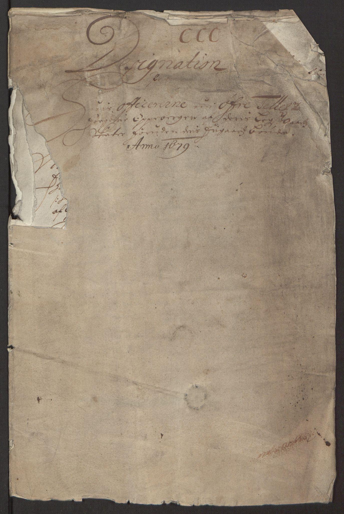 RA, Rentekammeret inntil 1814, Reviderte regnskaper, Fogderegnskap, R35/L2074: Fogderegnskap Øvre og Nedre Telemark, 1679, s. 163