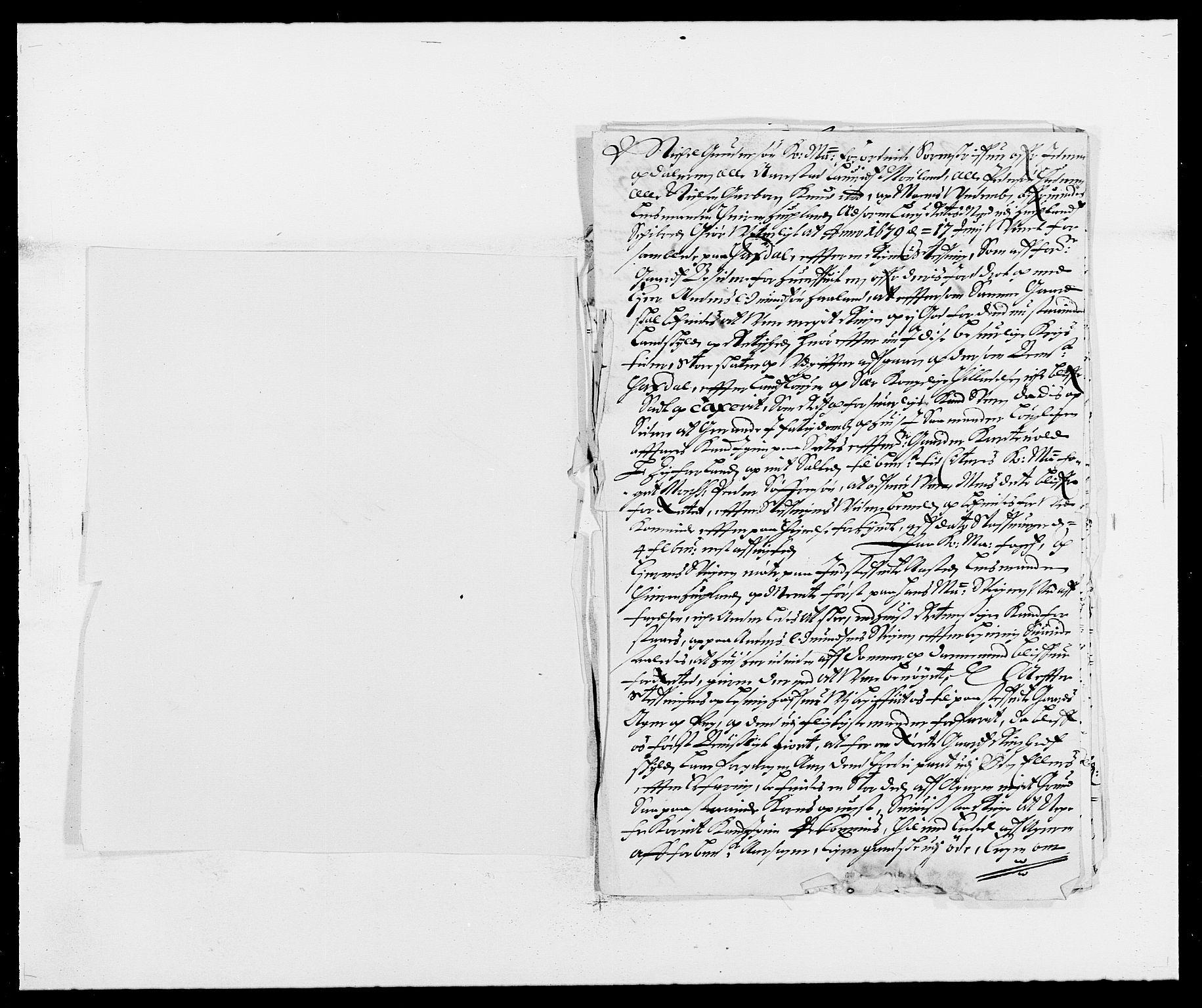 RA, Rentekammeret inntil 1814, Reviderte regnskaper, Fogderegnskap, R46/L2720: Fogderegnskap Jæren og Dalane, 1679, s. 2