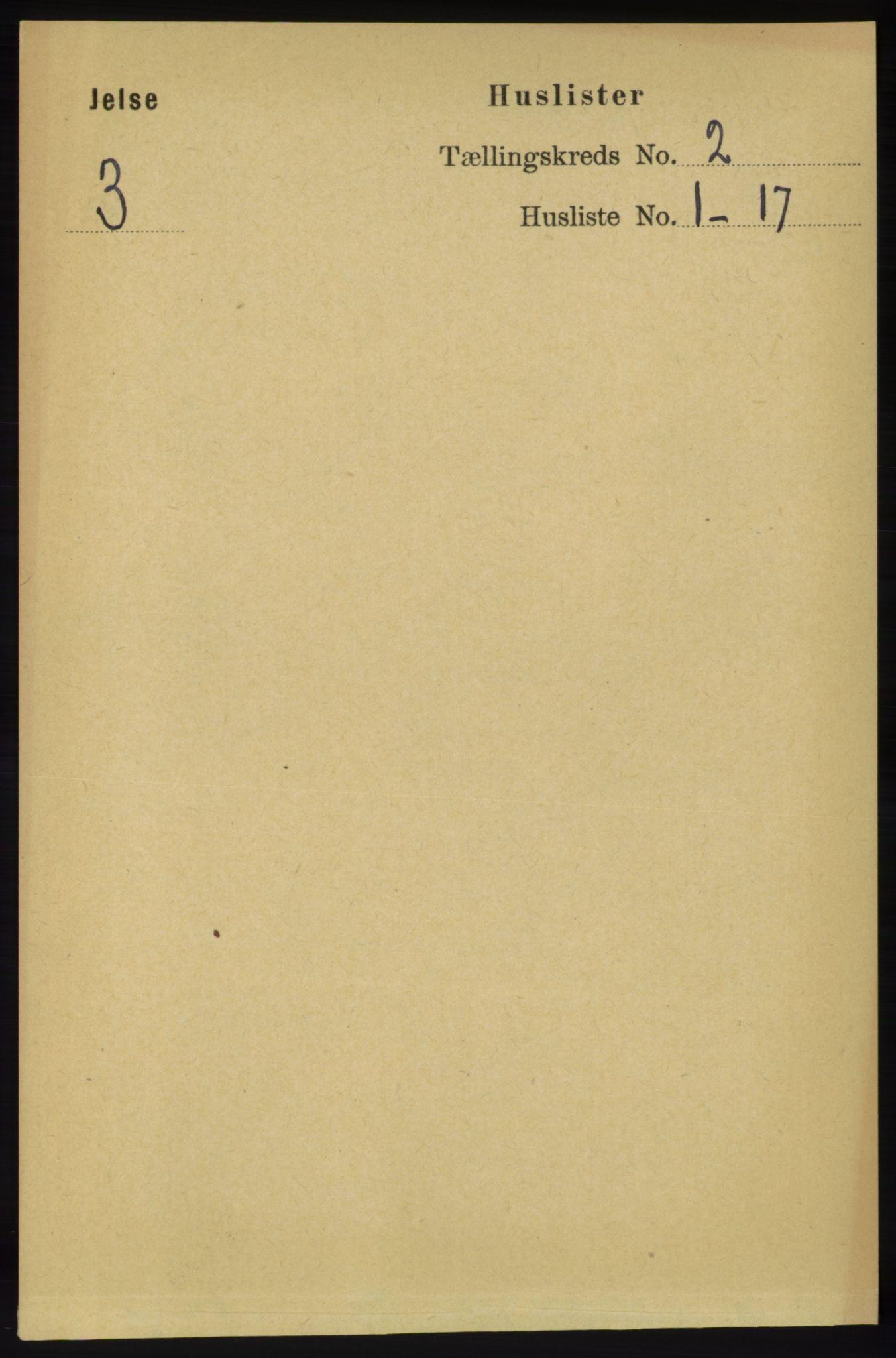 RA, Folketelling 1891 for 1138 Jelsa herred, 1891, s. 226
