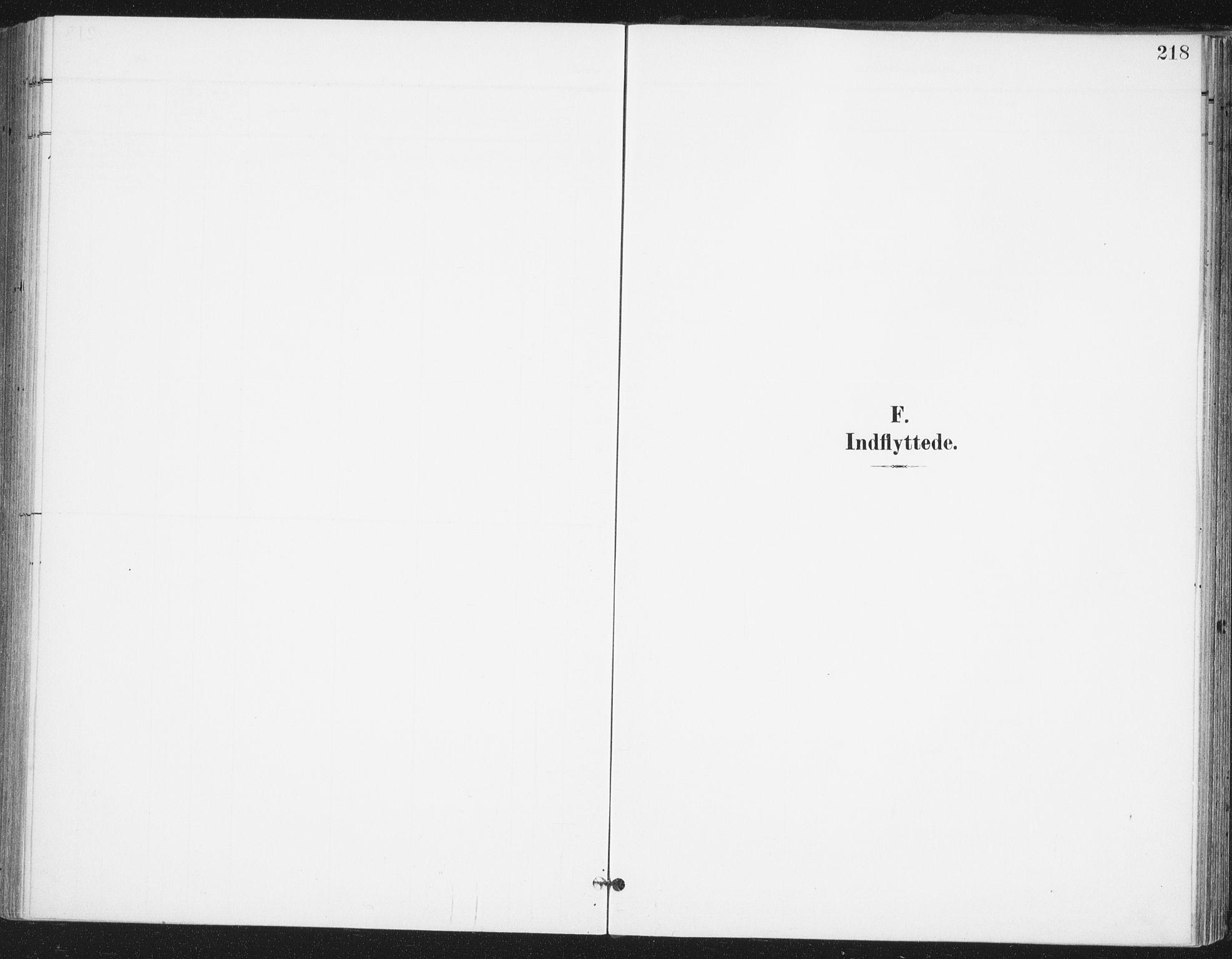 SAO, Ås prestekontor Kirkebøker, F/Fa/L0010: Ministerialbok nr. I 10, 1900-1918, s. 218