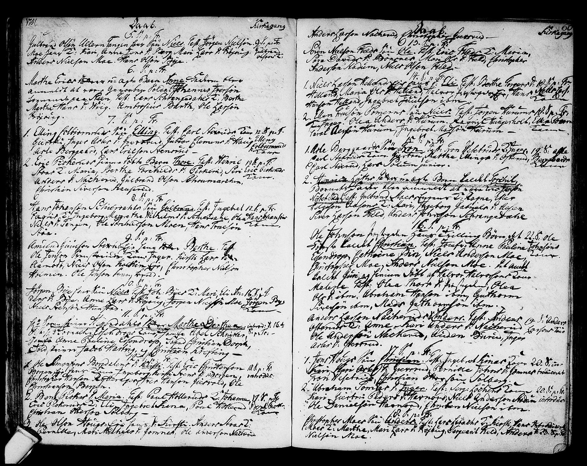 SAKO, Hole kirkebøker, F/Fa/L0002: Ministerialbok nr. I 2, 1766-1814, s. 60
