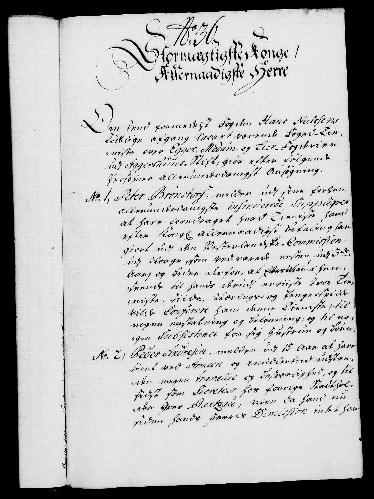 RA, Rentekammeret, Kammerkanselliet, G/Gf/Gfa/L0023: Norsk relasjons- og resolusjonsprotokoll (merket RK 52.23), 1740, s. 239