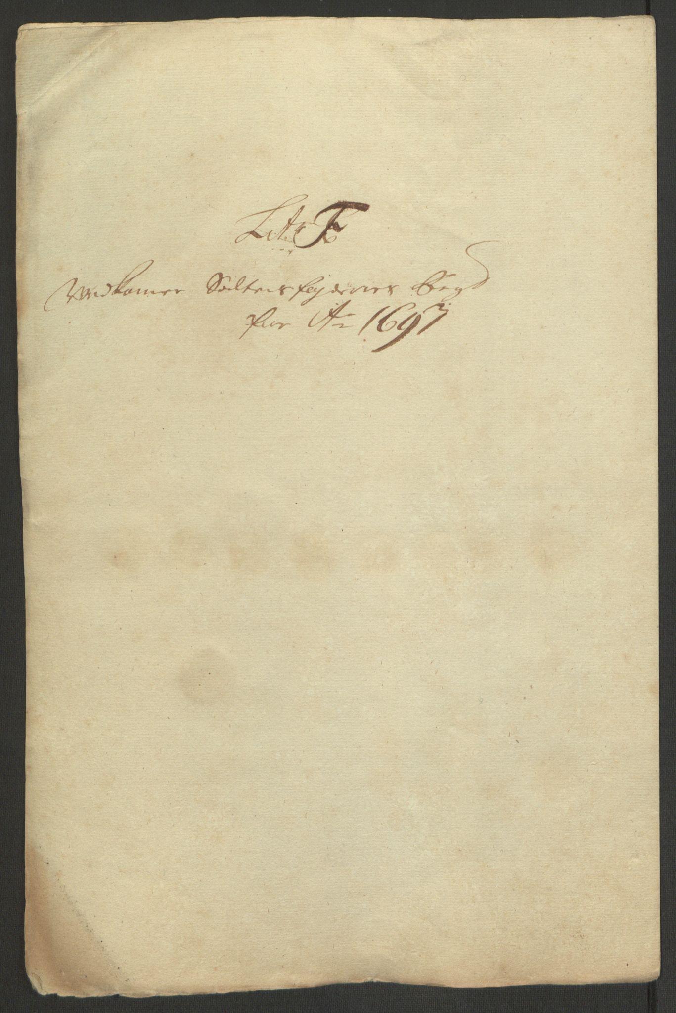 RA, Rentekammeret inntil 1814, Reviderte regnskaper, Fogderegnskap, R66/L4577: Fogderegnskap Salten, 1691-1693, s. 331