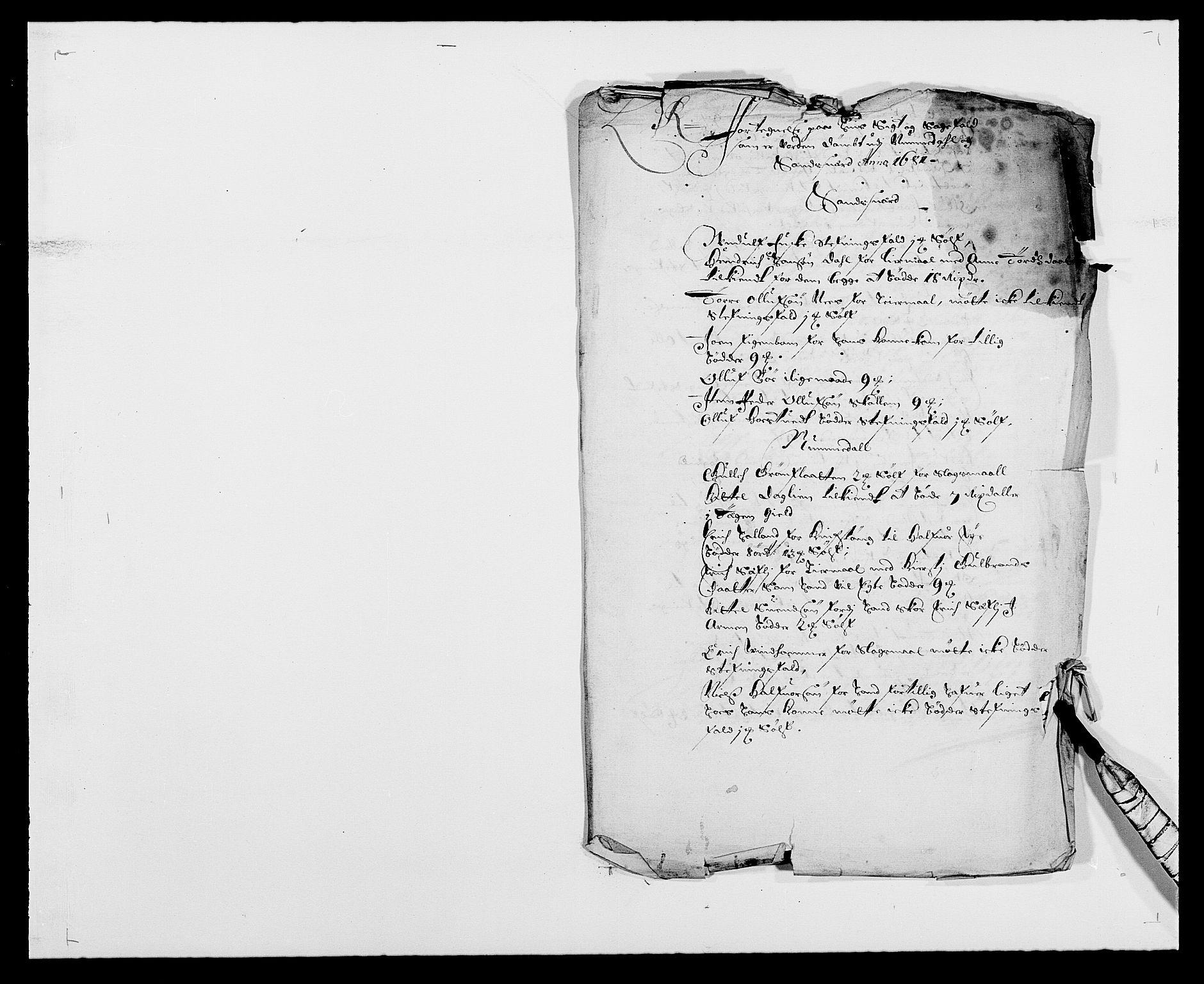 RA, Rentekammeret inntil 1814, Reviderte regnskaper, Fogderegnskap, R24/L1569: Fogderegnskap Numedal og Sandsvær, 1679-1686, s. 226