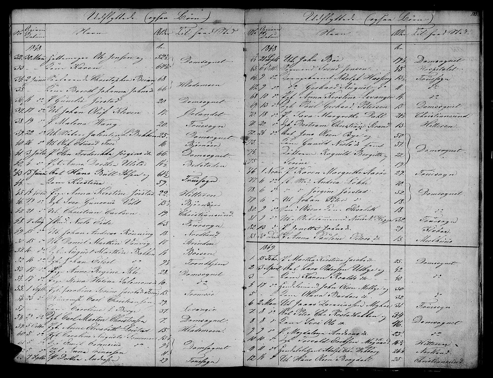 SAT, Ministerialprotokoller, klokkerbøker og fødselsregistre - Sør-Trøndelag, 604/L0182: Ministerialbok nr. 604A03, 1818-1850, s. 183