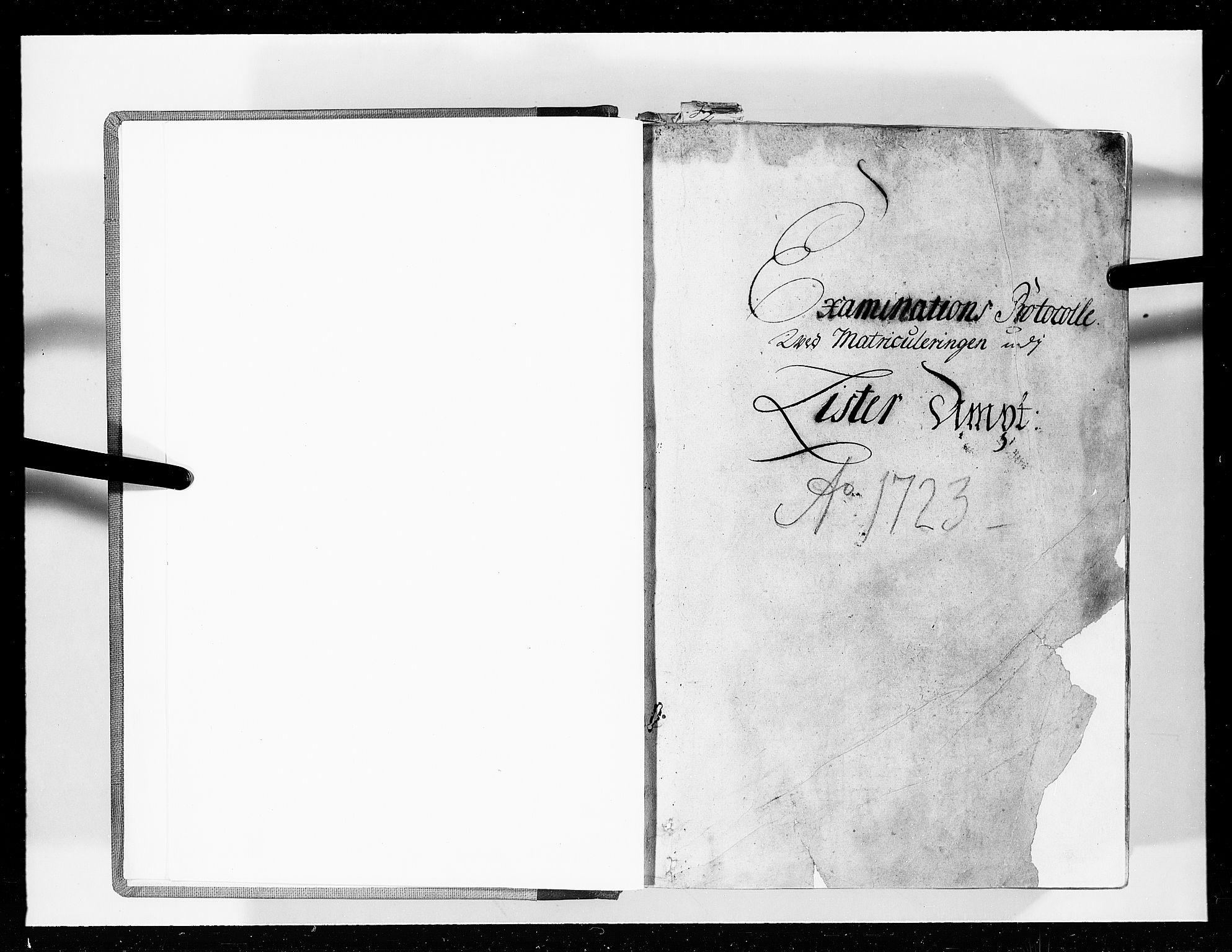 RA, Rentekammeret inntil 1814, Realistisk ordnet avdeling, N/Nb/Nbf/L0129: Lista eksaminasjonsprotokoll, 1723, s. upaginert