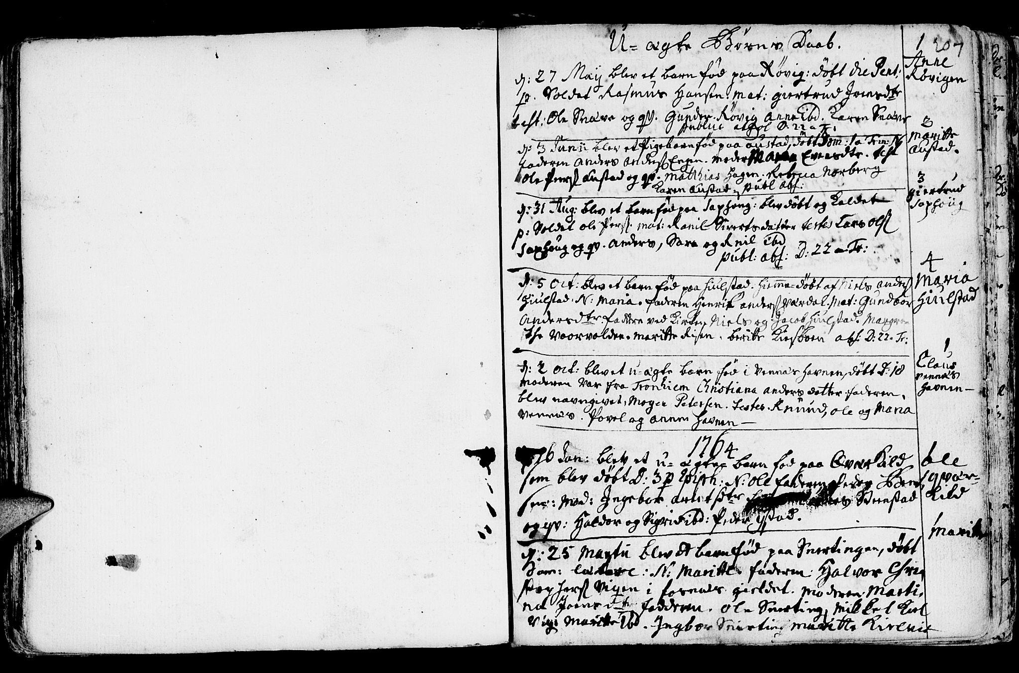 SAT, Ministerialprotokoller, klokkerbøker og fødselsregistre - Nord-Trøndelag, 730/L0273: Ministerialbok nr. 730A02, 1762-1802, s. 207