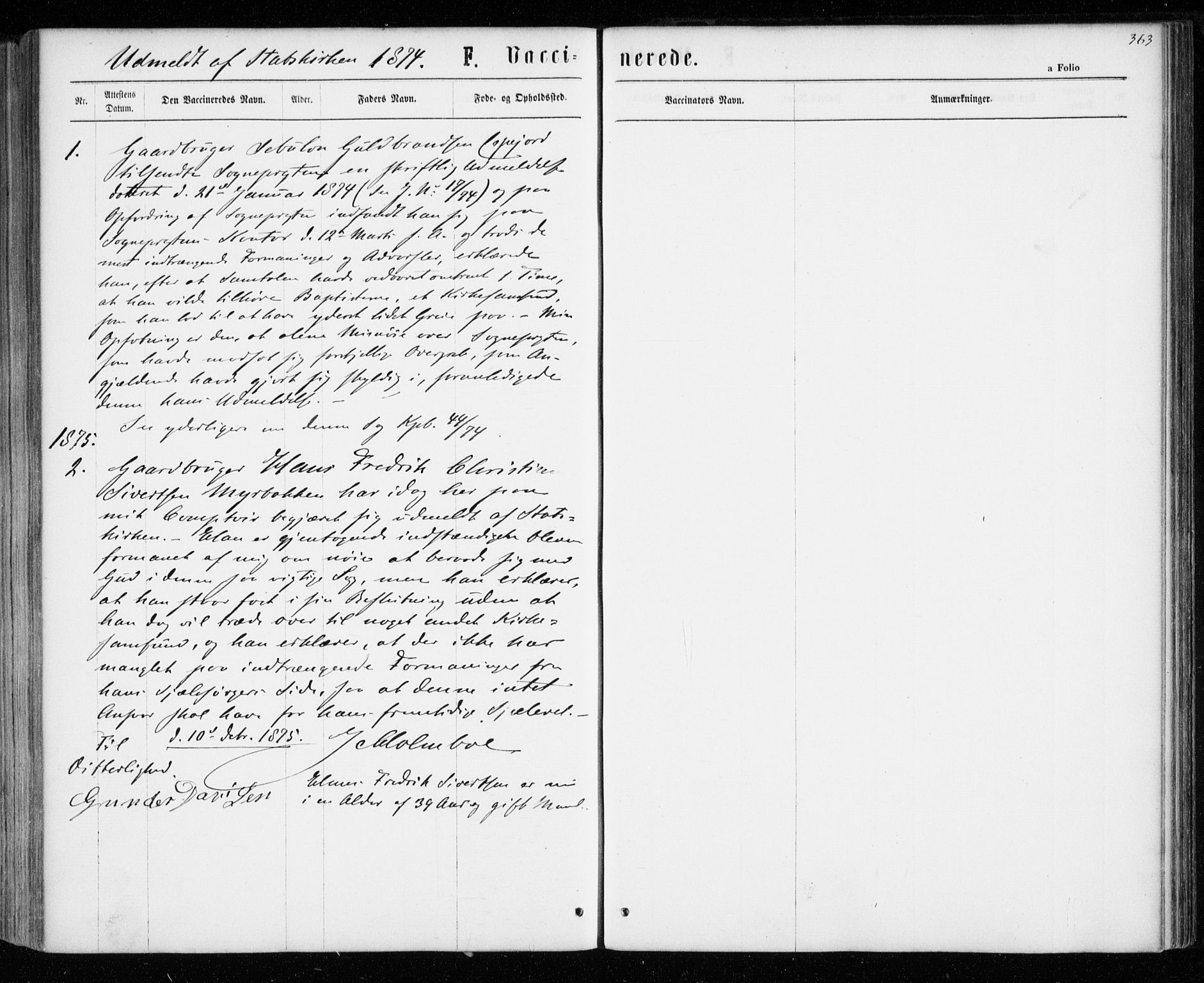SATØ, Tranøy sokneprestkontor, I/Ia/Iaa/L0008kirke: Ministerialbok nr. 8, 1867-1877, s. 363