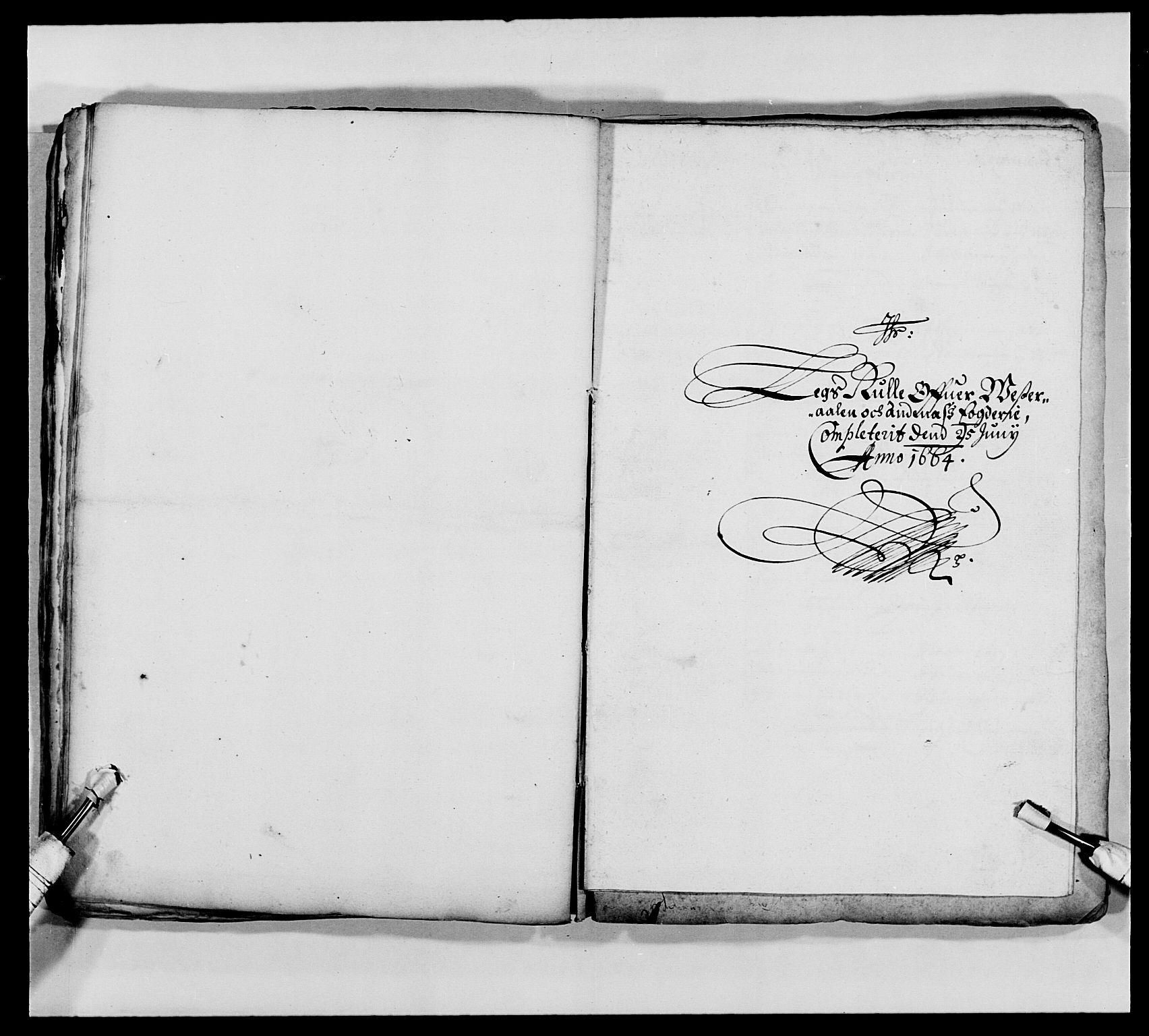 RA, Kommanderende general (KG I) med Det norske krigsdirektorium, E/Ea/L0473: Marineregimentet, 1664-1700, s. 41