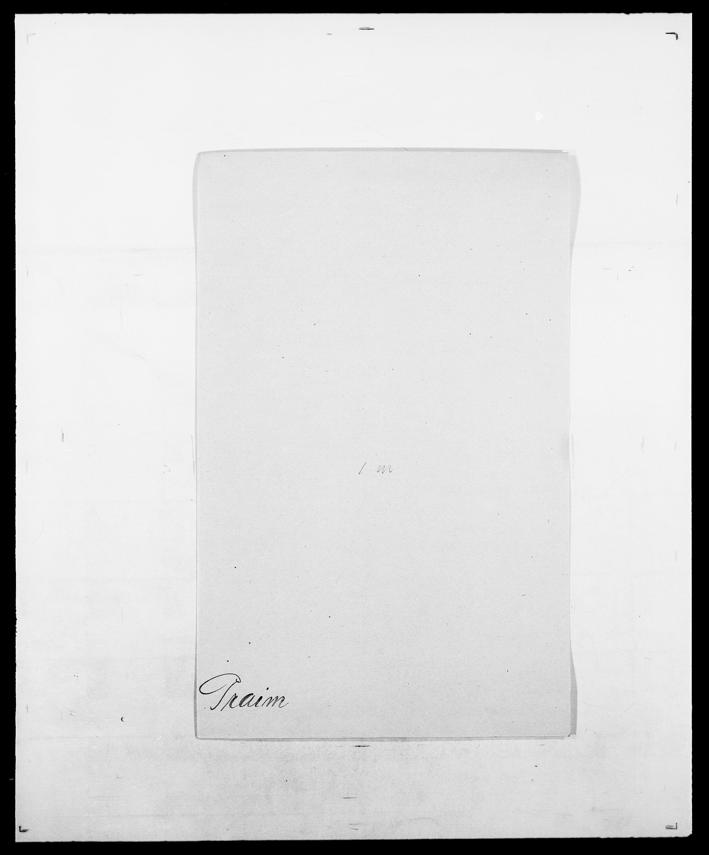 SAO, Delgobe, Charles Antoine - samling, D/Da/L0031: de Place - Raaum, s. 287