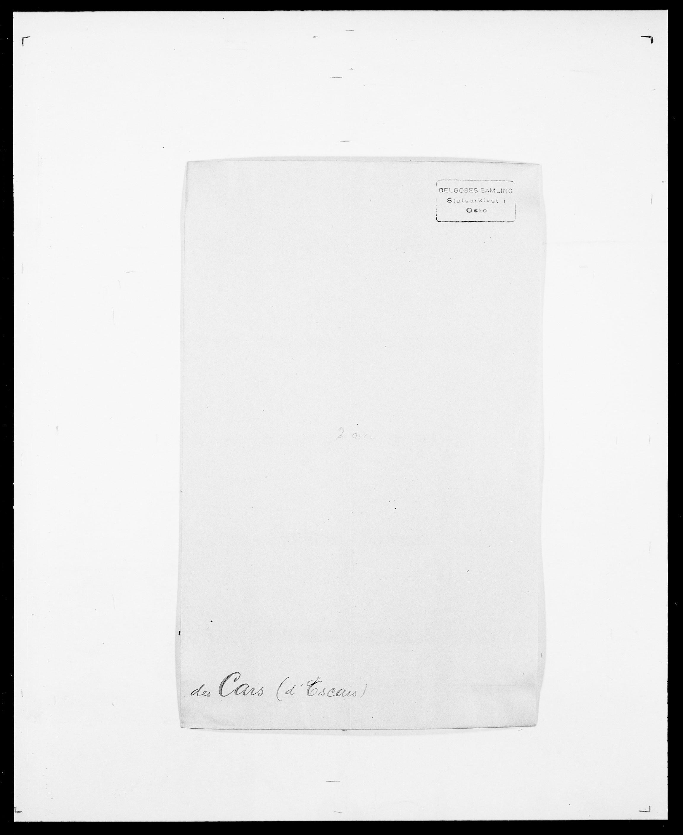 SAO, Delgobe, Charles Antoine - samling, D/Da/L0008: Capjon - Dagenbolt, s. 85