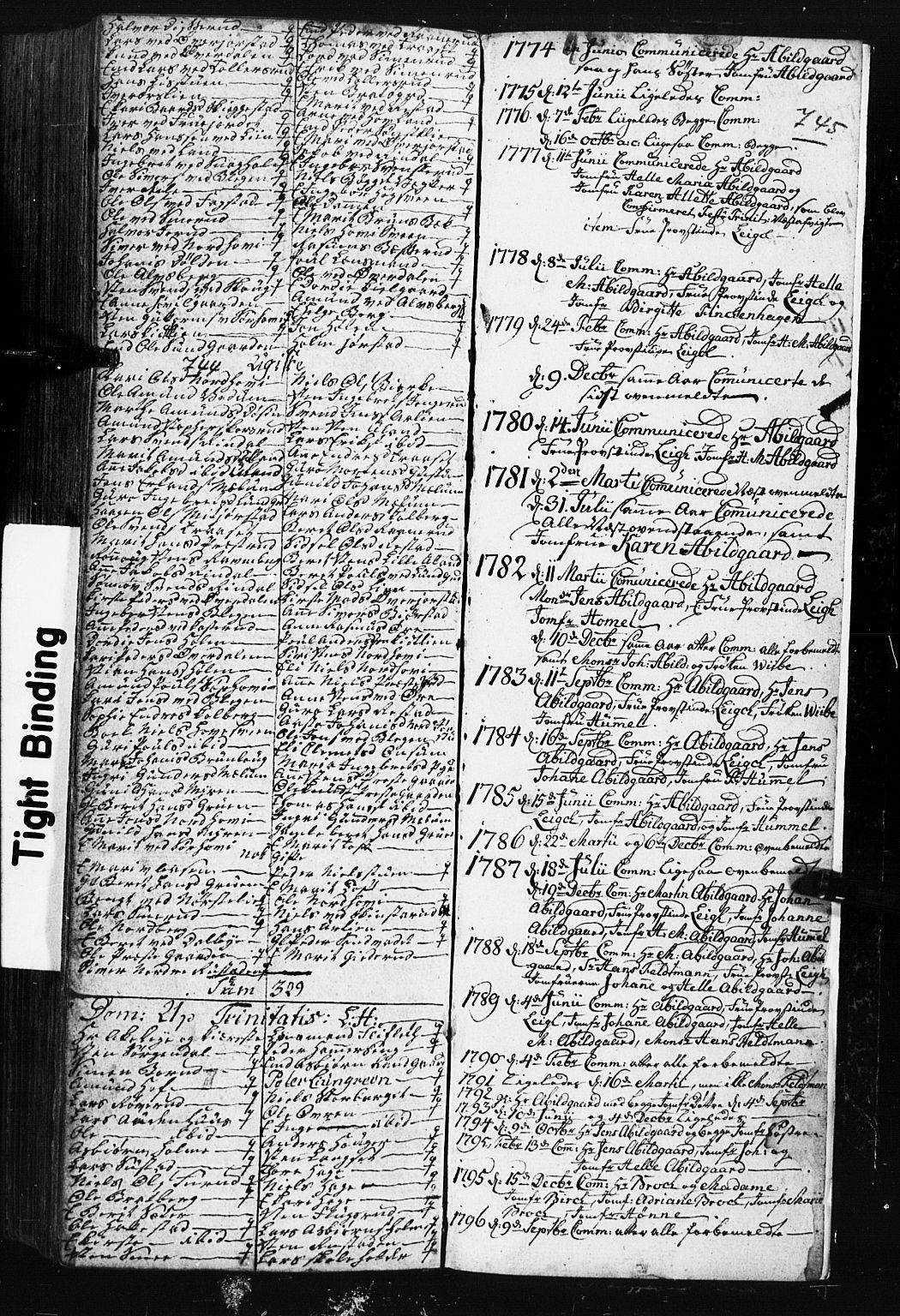 SAH, Fåberg prestekontor, Klokkerbok nr. 3, 1768-1796, s. 744-745
