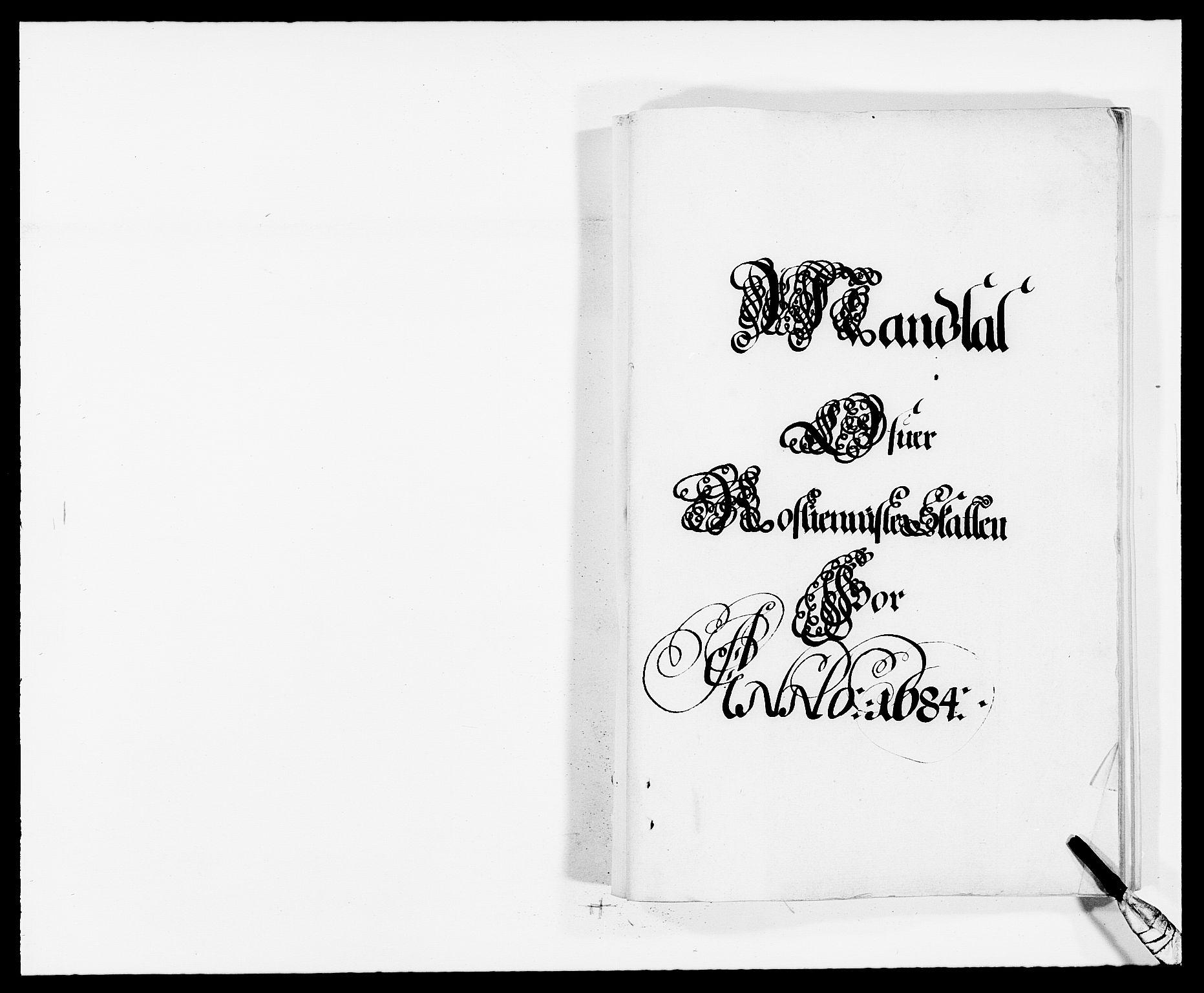 RA, Rentekammeret inntil 1814, Reviderte regnskaper, Fogderegnskap, R32/L1855: Fogderegnskap Jarlsberg grevskap, 1684, s. 1