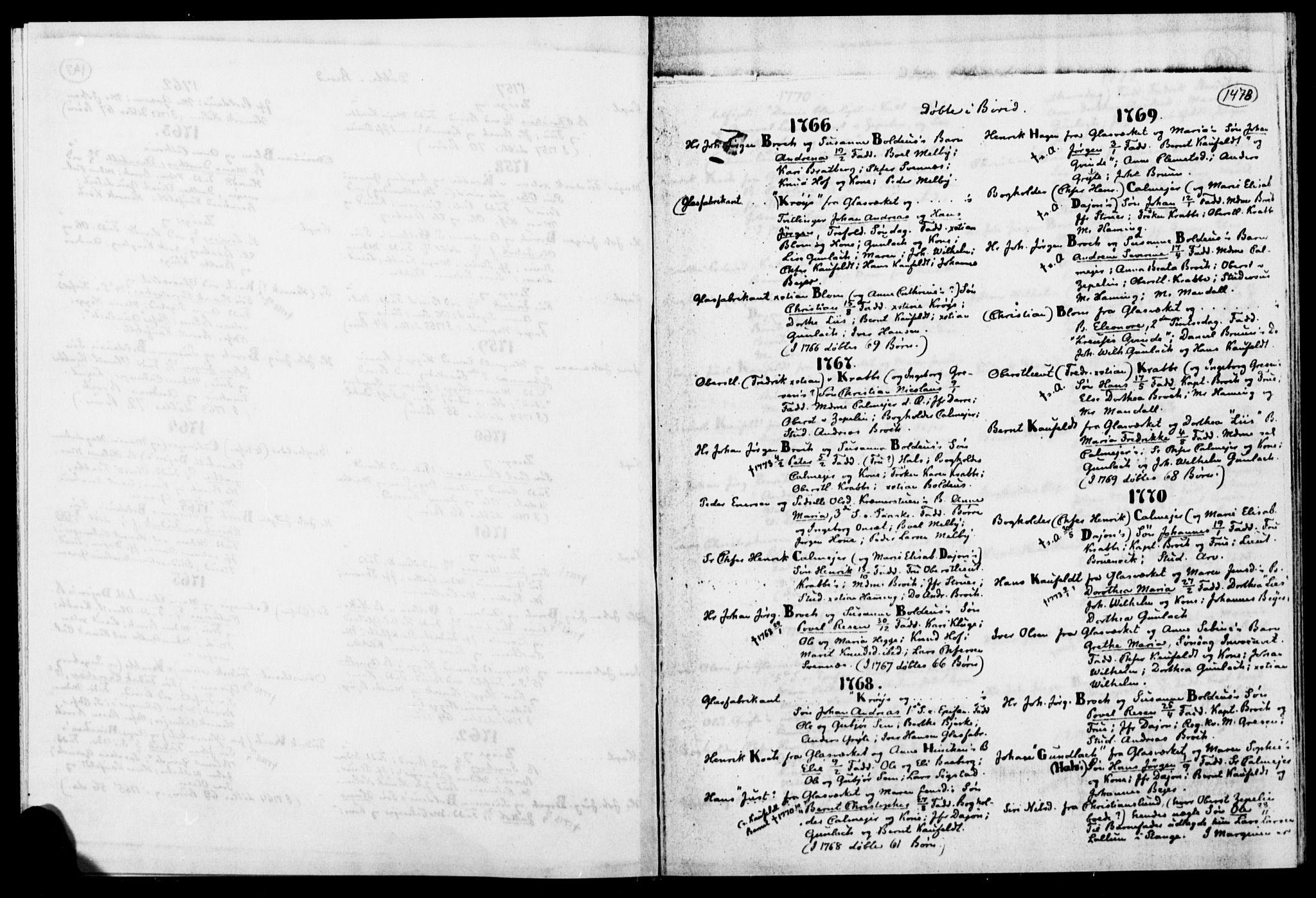 SAH, Biri prestekontor, Ministerialbok, 1730-1879, s. 147b