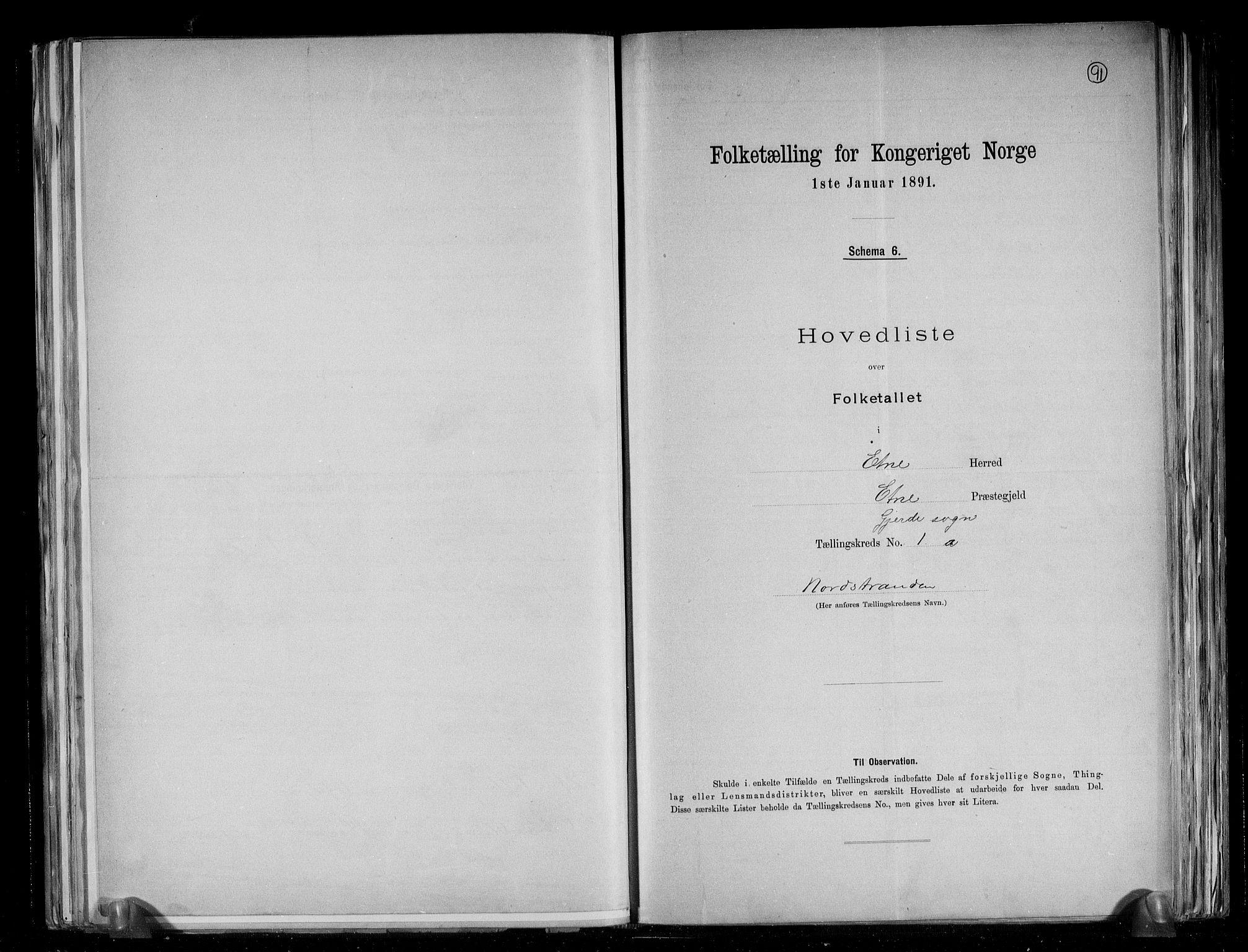 RA, Folketelling 1891 for 1211 Etne herred, 1891, s. 4