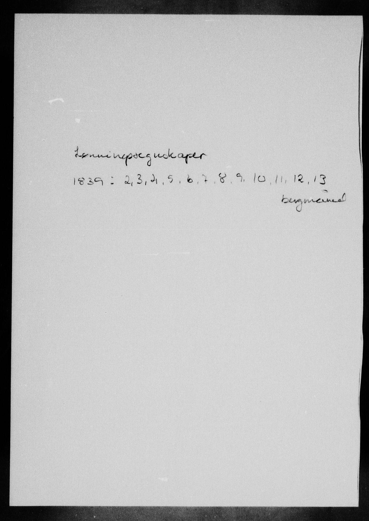 RA, Modums Blaafarveværk, G/Gd/Gdd/L0278, 1839, s. 2