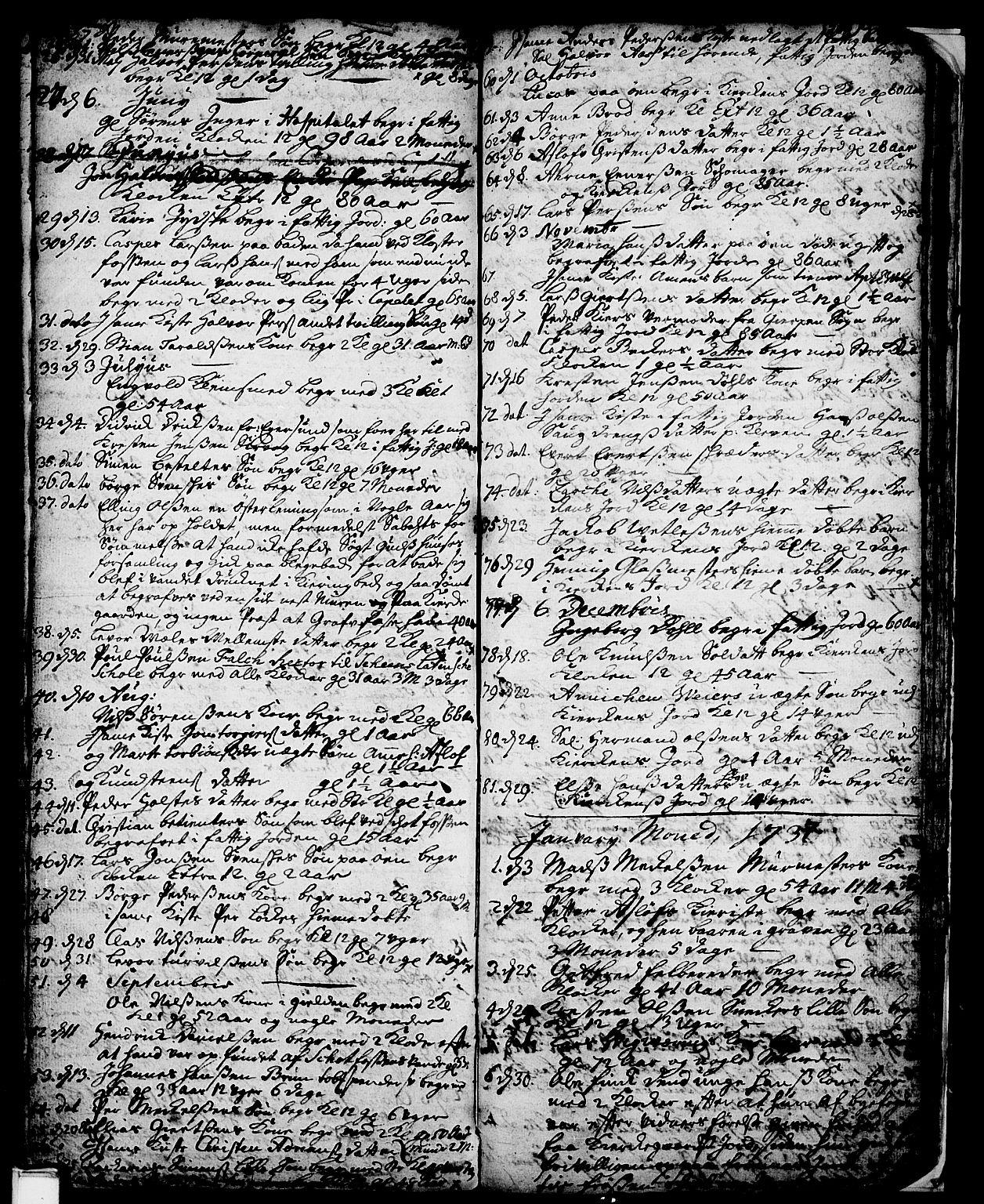 SAKO, Skien kirkebøker, F/Fa/L0002: Ministerialbok nr. 2, 1716-1757, s. 204