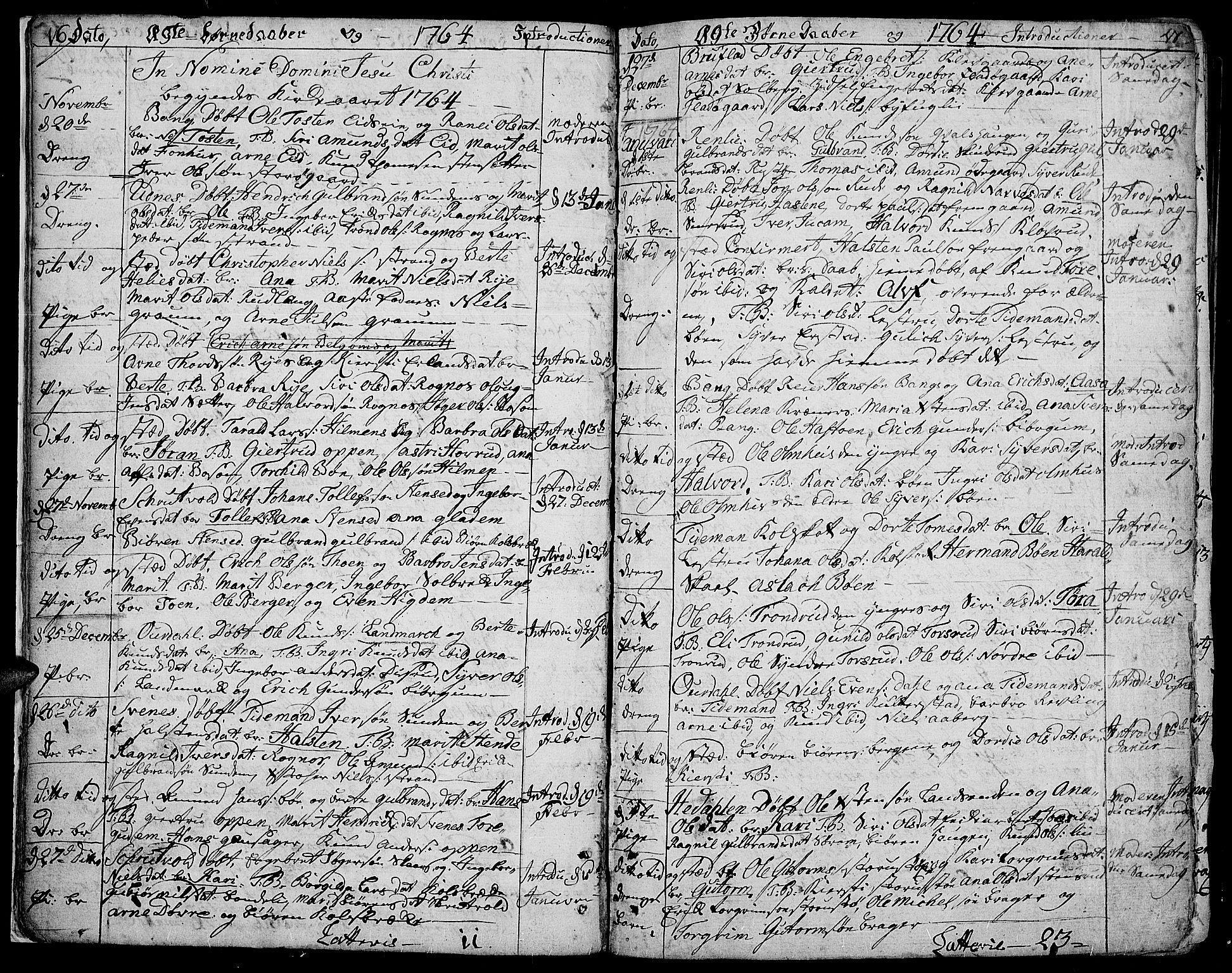 SAH, Aurdal prestekontor, Ministerialbok nr. 5, 1763-1781, s. 16-17