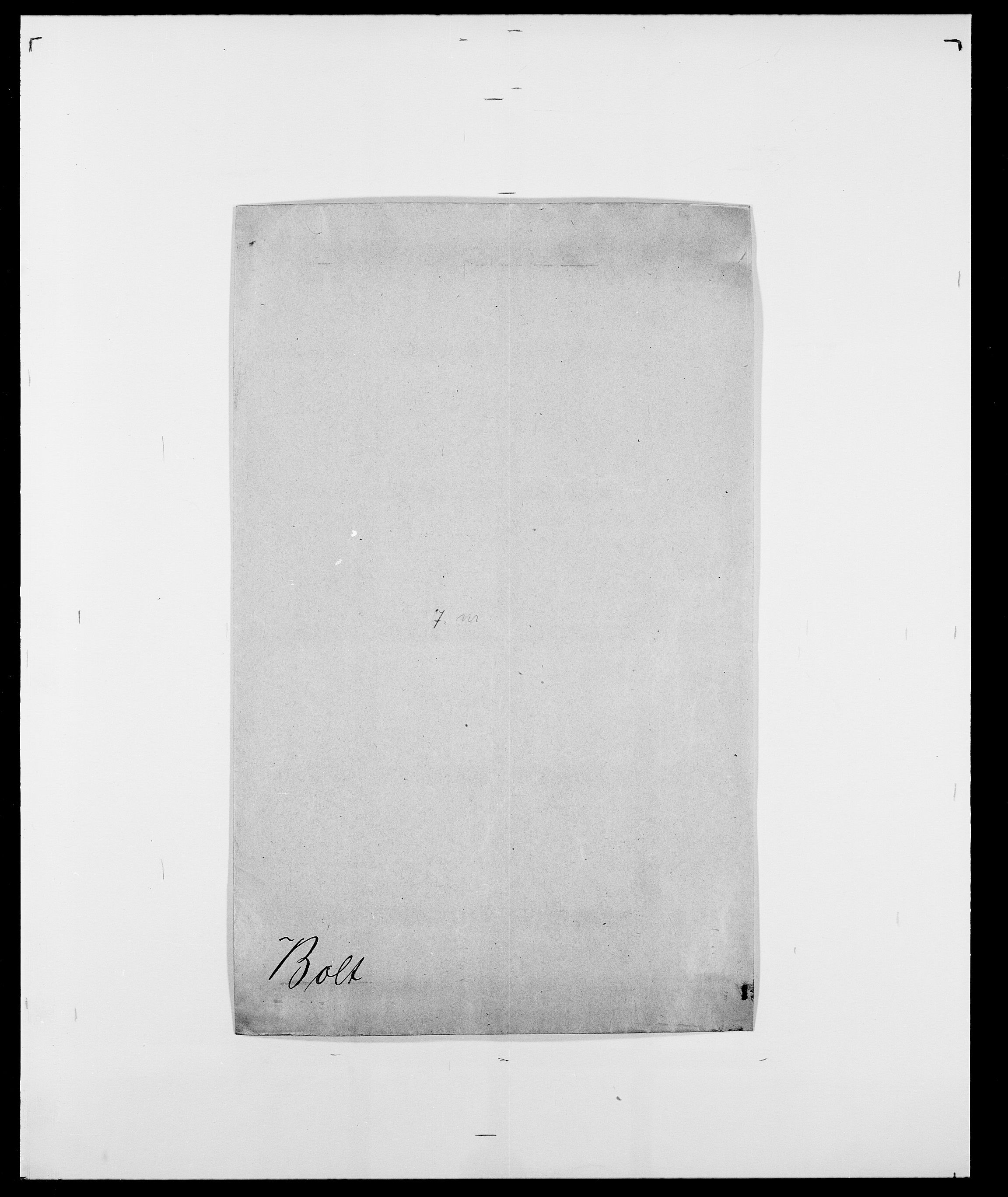SAO, Delgobe, Charles Antoine - samling, D/Da/L0005: Boalth - Brahm, s. 93