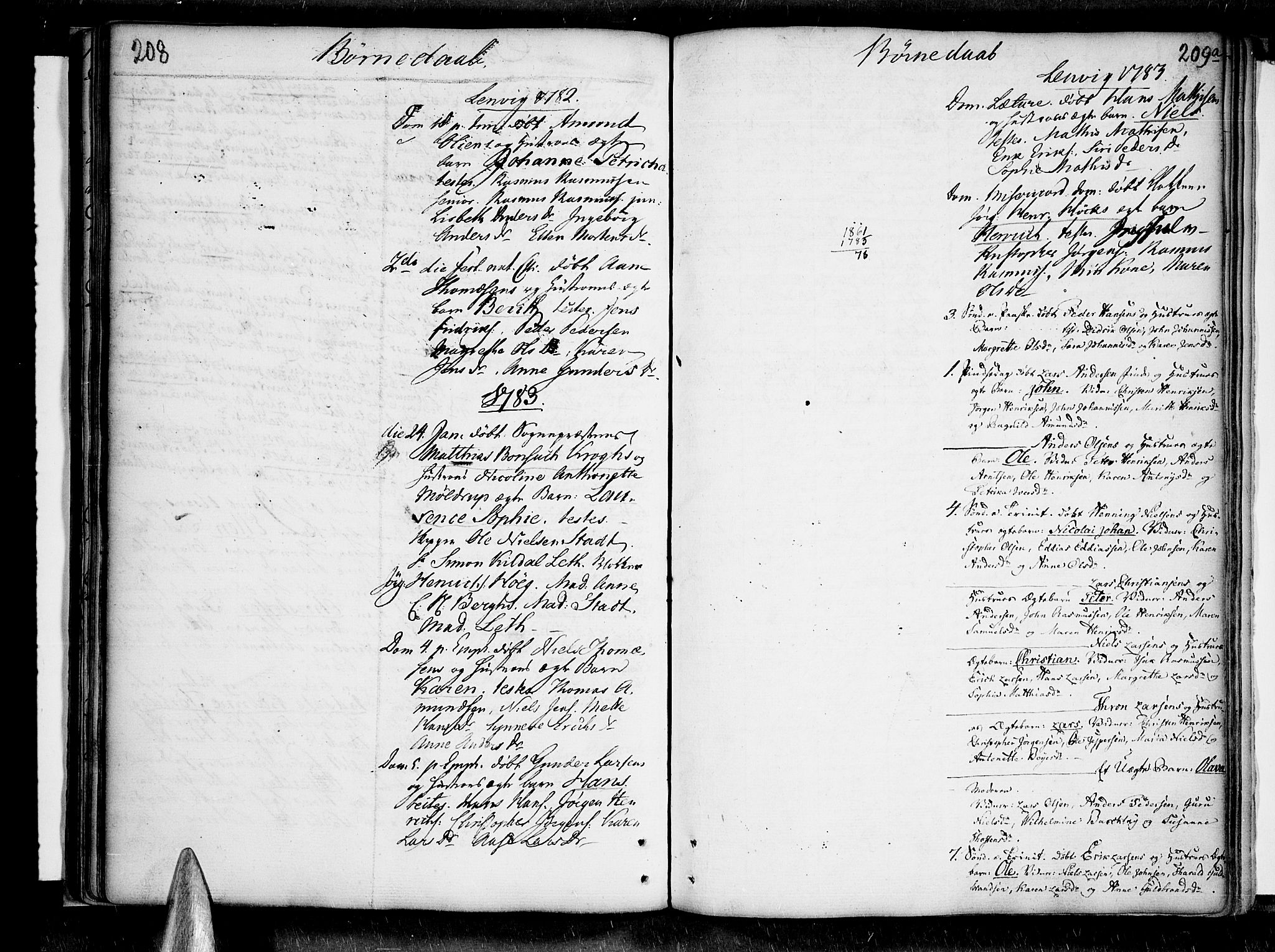 SATØ, Lenvik sokneprestembete, H/Ha: Ministerialbok nr. 1, 1753-1783, s. 208-209