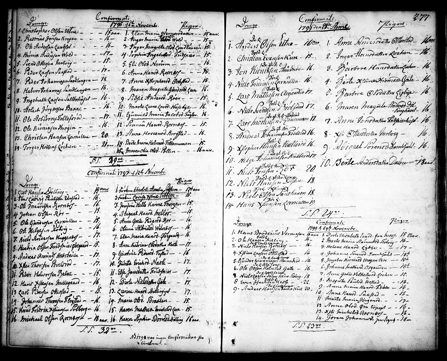 SAO, Rygge prestekontor Kirkebøker, F/Fa/L0002: Ministerialbok nr. 2, 1771-1814, s. 277