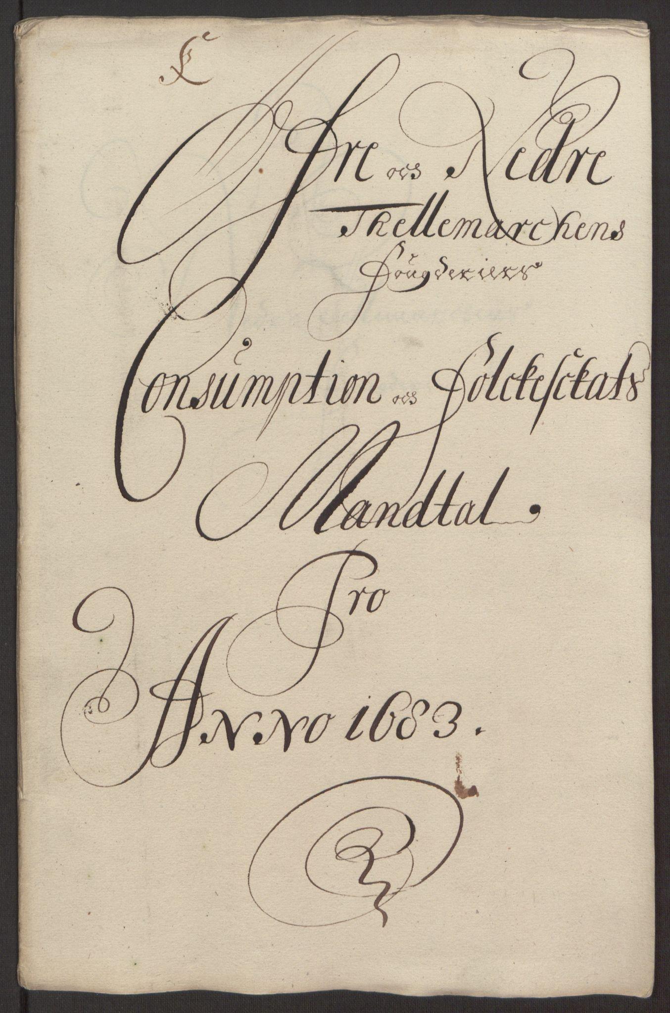 RA, Rentekammeret inntil 1814, Reviderte regnskaper, Fogderegnskap, R35/L2080: Fogderegnskap Øvre og Nedre Telemark, 1680-1684, s. 140