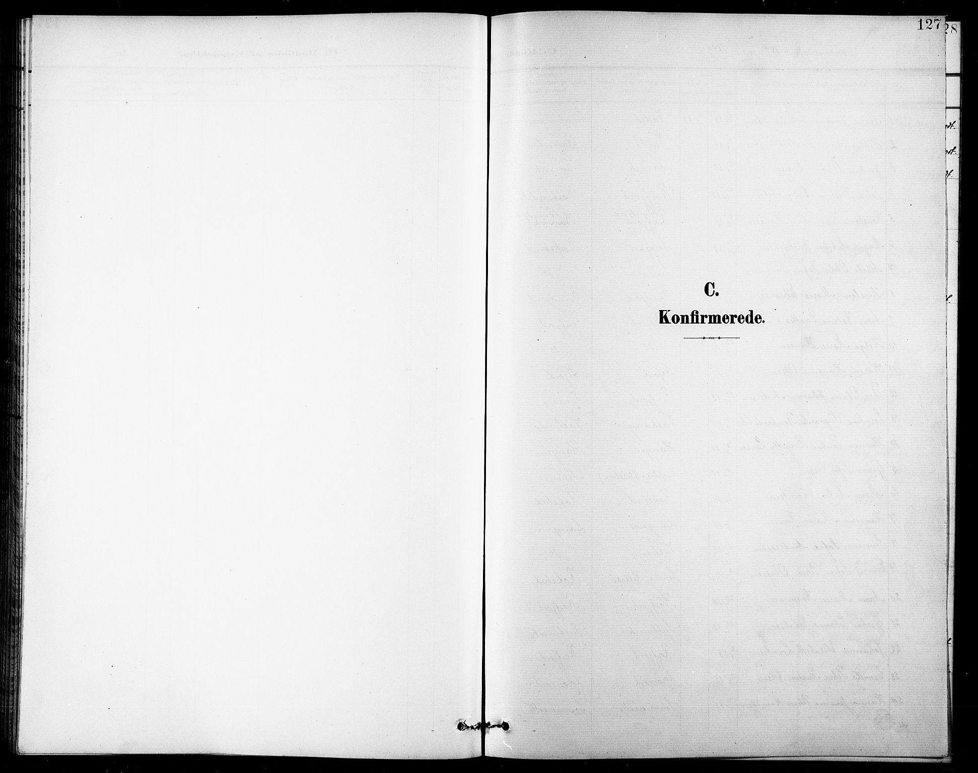 SATØ, Lenvik sokneprestembete, H/Ha: Klokkerbok nr. 8, 1899-1911, s. 127