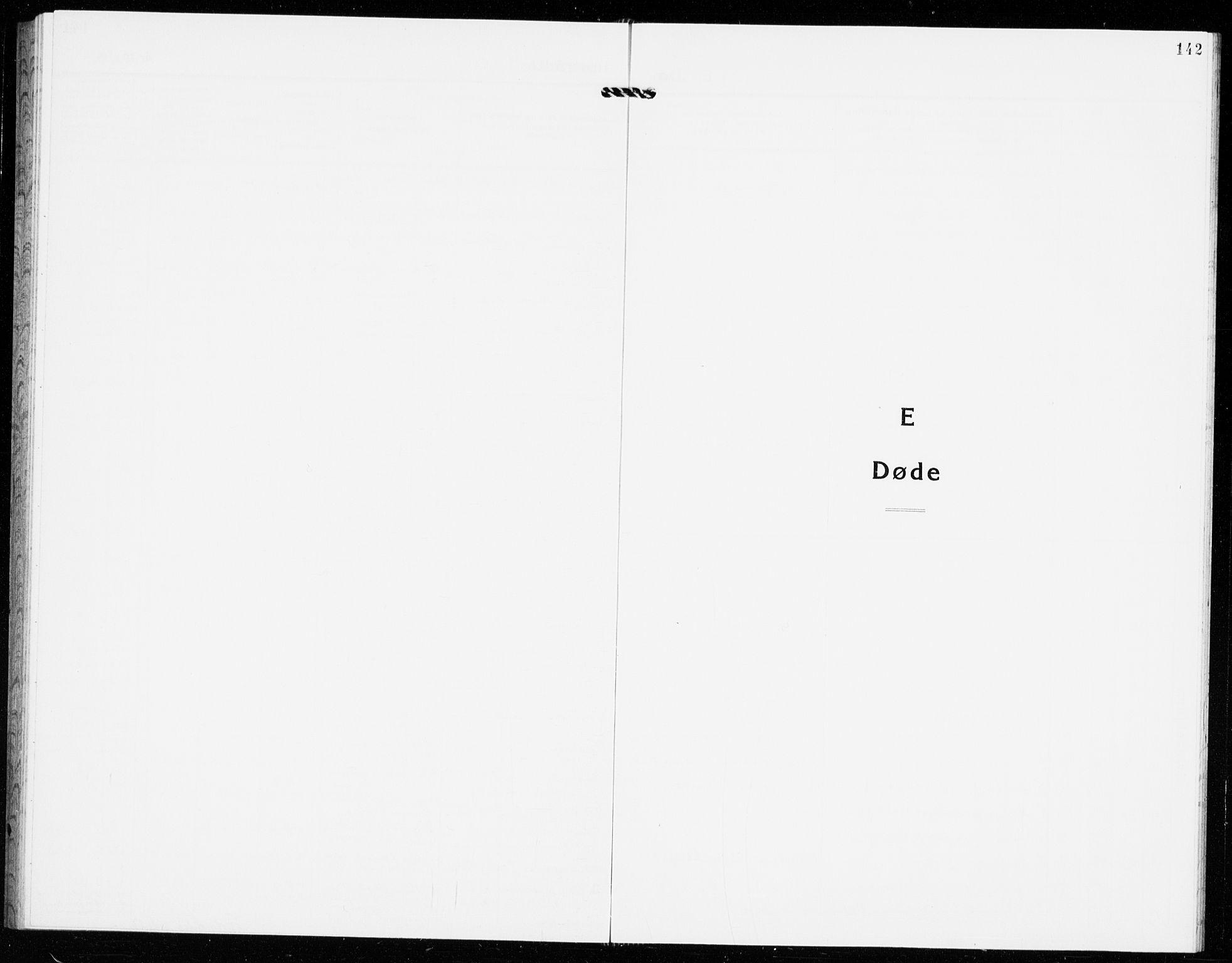 SAKO, Gjerpen kirkebøker, G/Ga/L0005: Klokkerbok nr. I 5, 1932-1940, s. 142