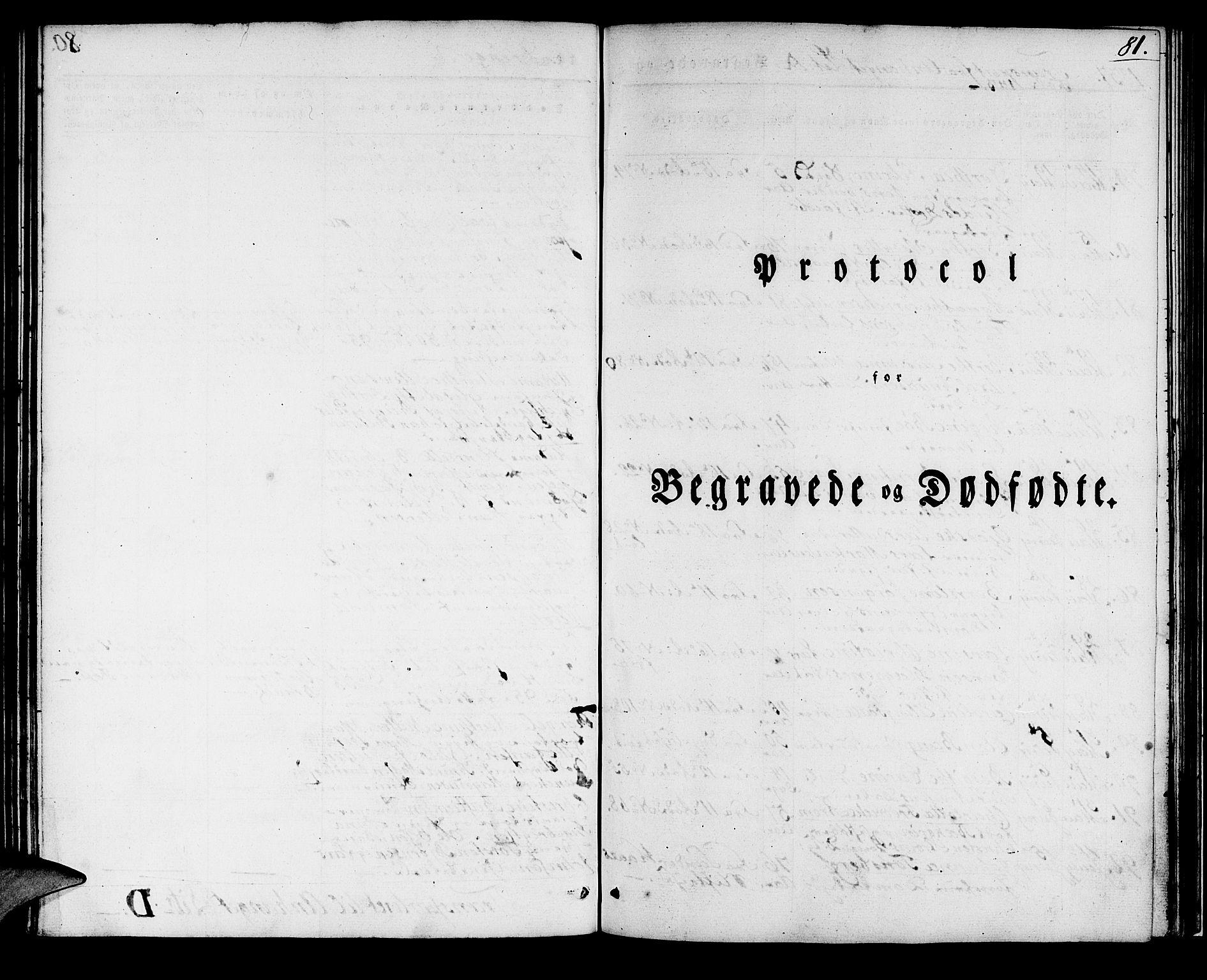 SAB, Domkirken Sokneprestembete, H/Haa/L0015: Ministerialbok nr. A 14, 1835-1840, s. 81