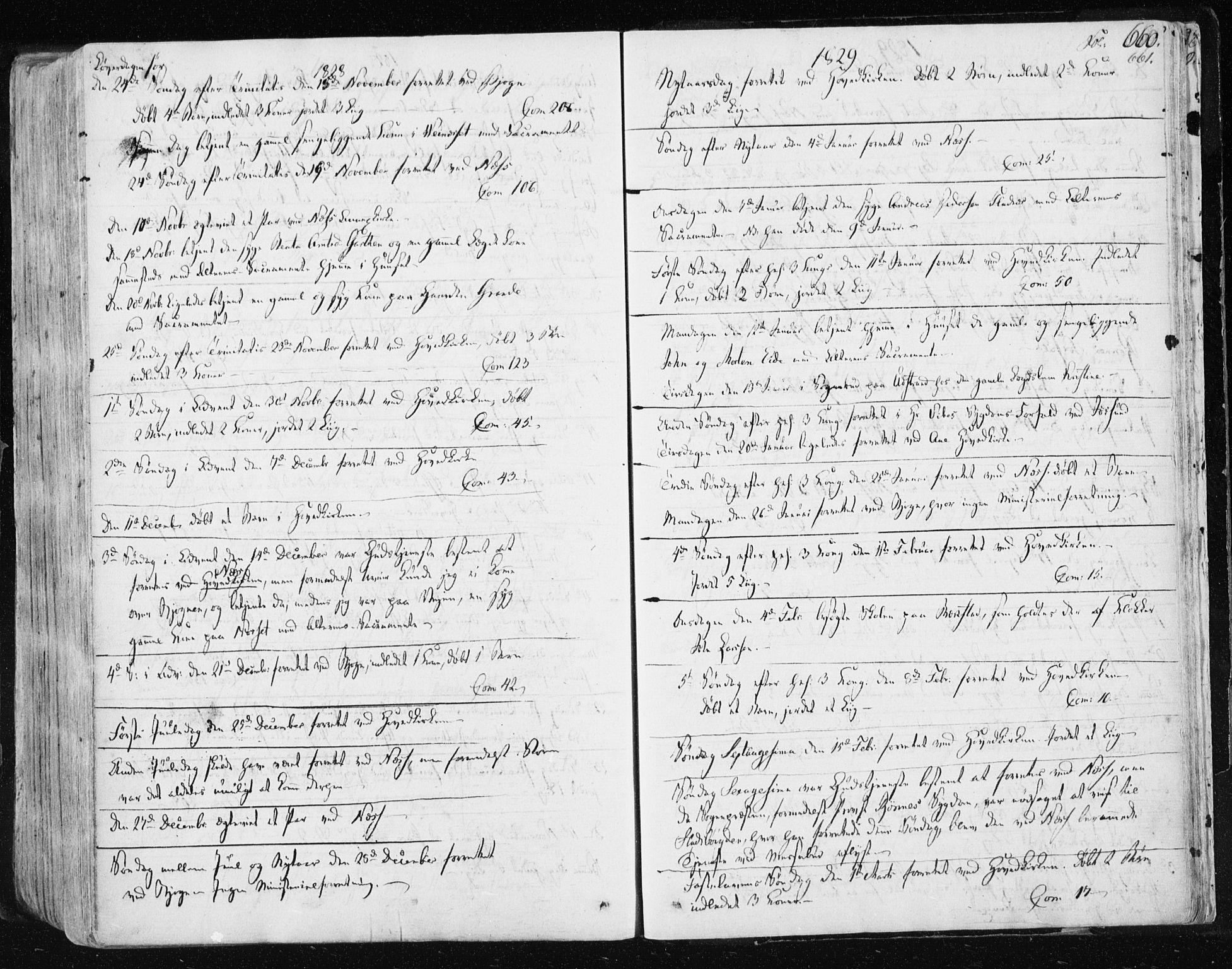 SAT, Ministerialprotokoller, klokkerbøker og fødselsregistre - Sør-Trøndelag, 659/L0735: Ministerialbok nr. 659A05, 1826-1841, s. 660
