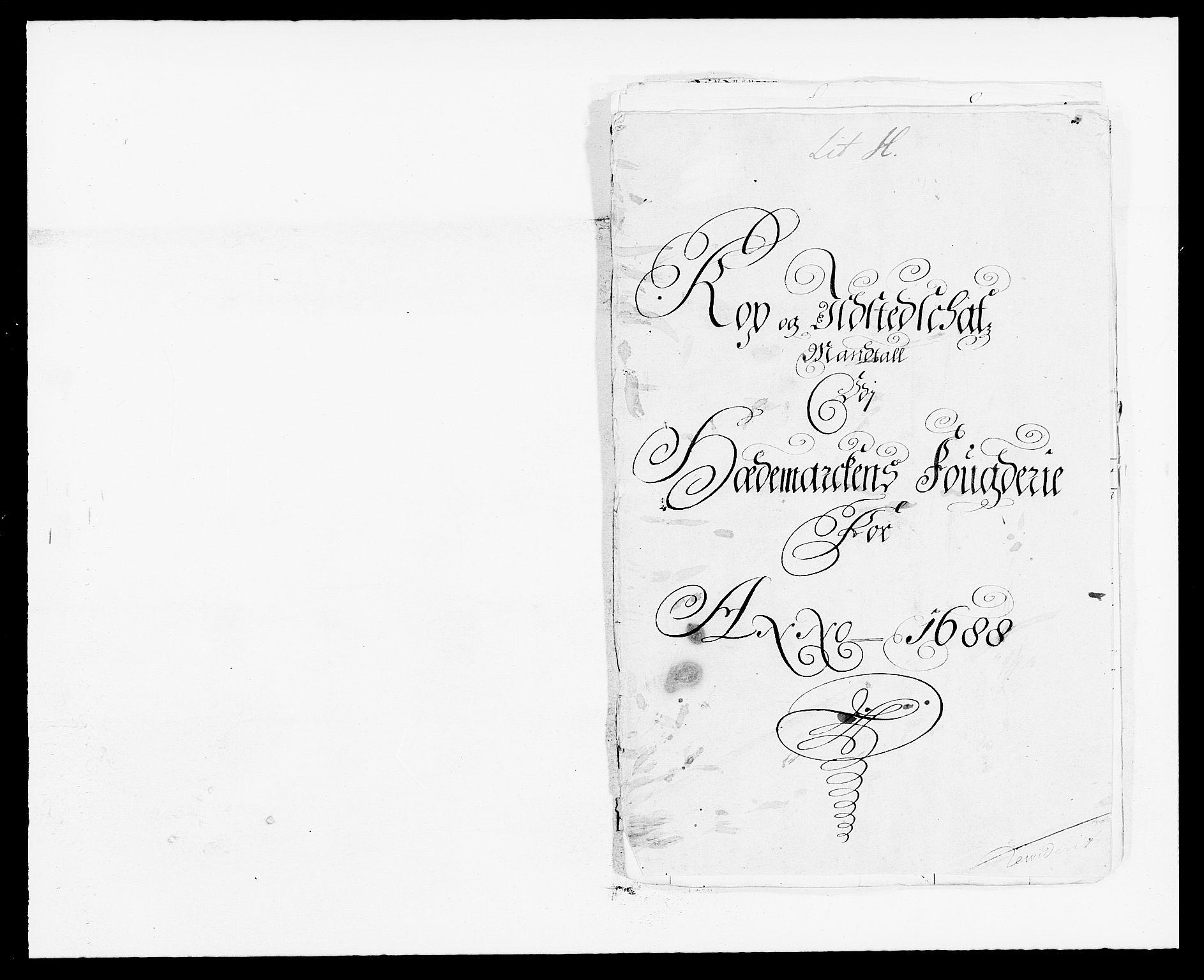 RA, Rentekammeret inntil 1814, Reviderte regnskaper, Fogderegnskap, R16/L1029: Fogderegnskap Hedmark, 1688, s. 331