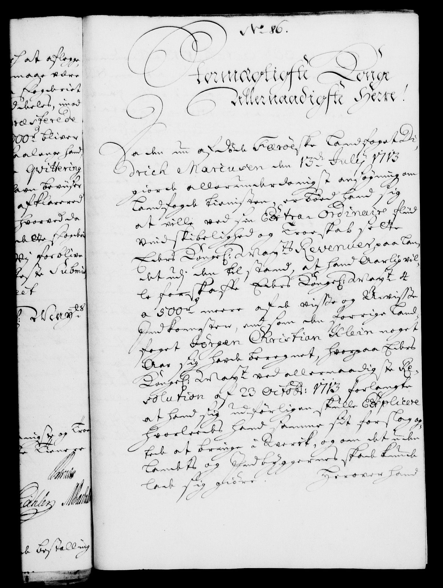 RA, Rentekammeret, Kammerkanselliet, G/Gf/Gfa/L0006: Norsk relasjons- og resolusjonsprotokoll (merket RK 52.6), 1723, s. 551
