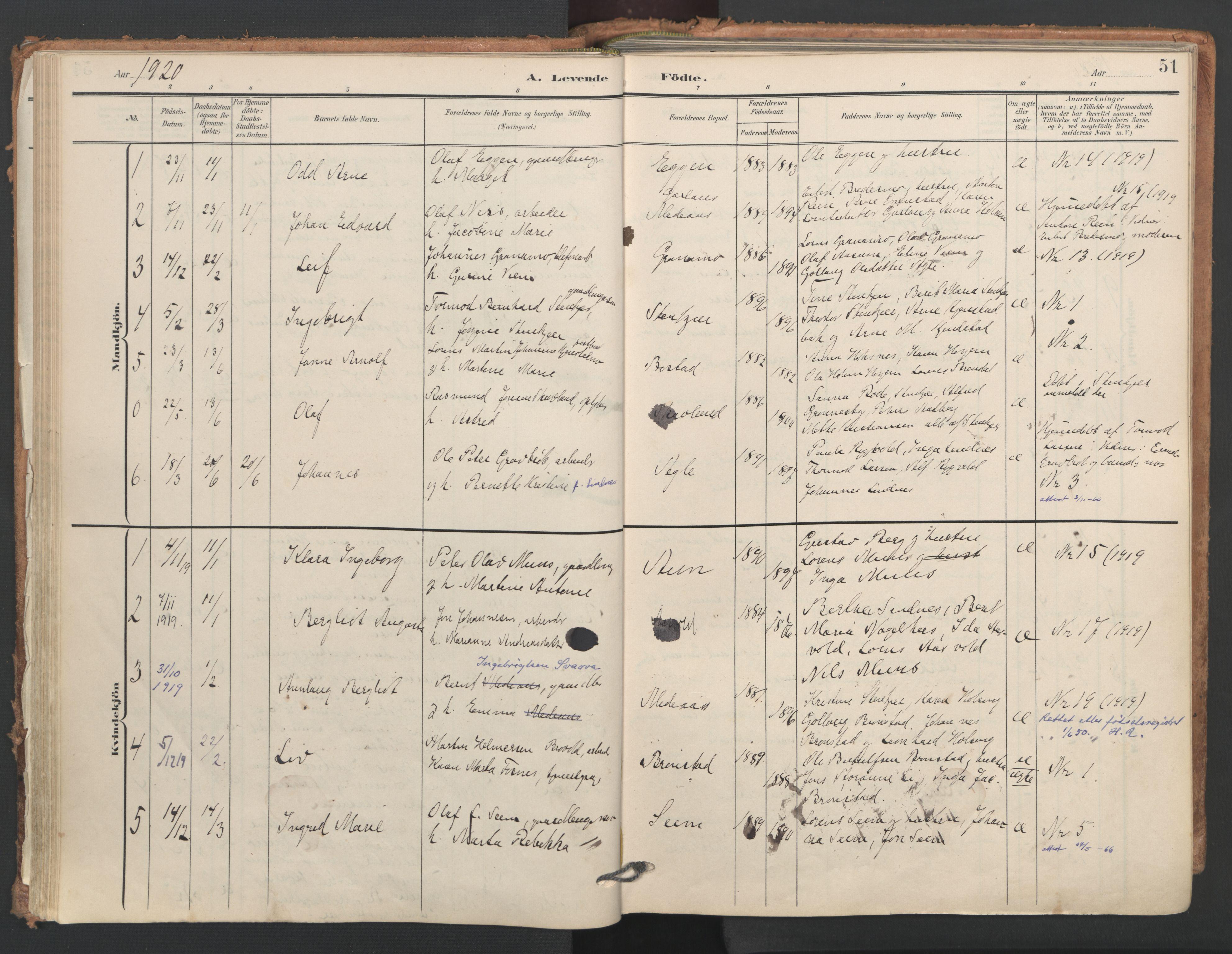SAT, Ministerialprotokoller, klokkerbøker og fødselsregistre - Nord-Trøndelag, 749/L0477: Ministerialbok nr. 749A11, 1902-1927, s. 51