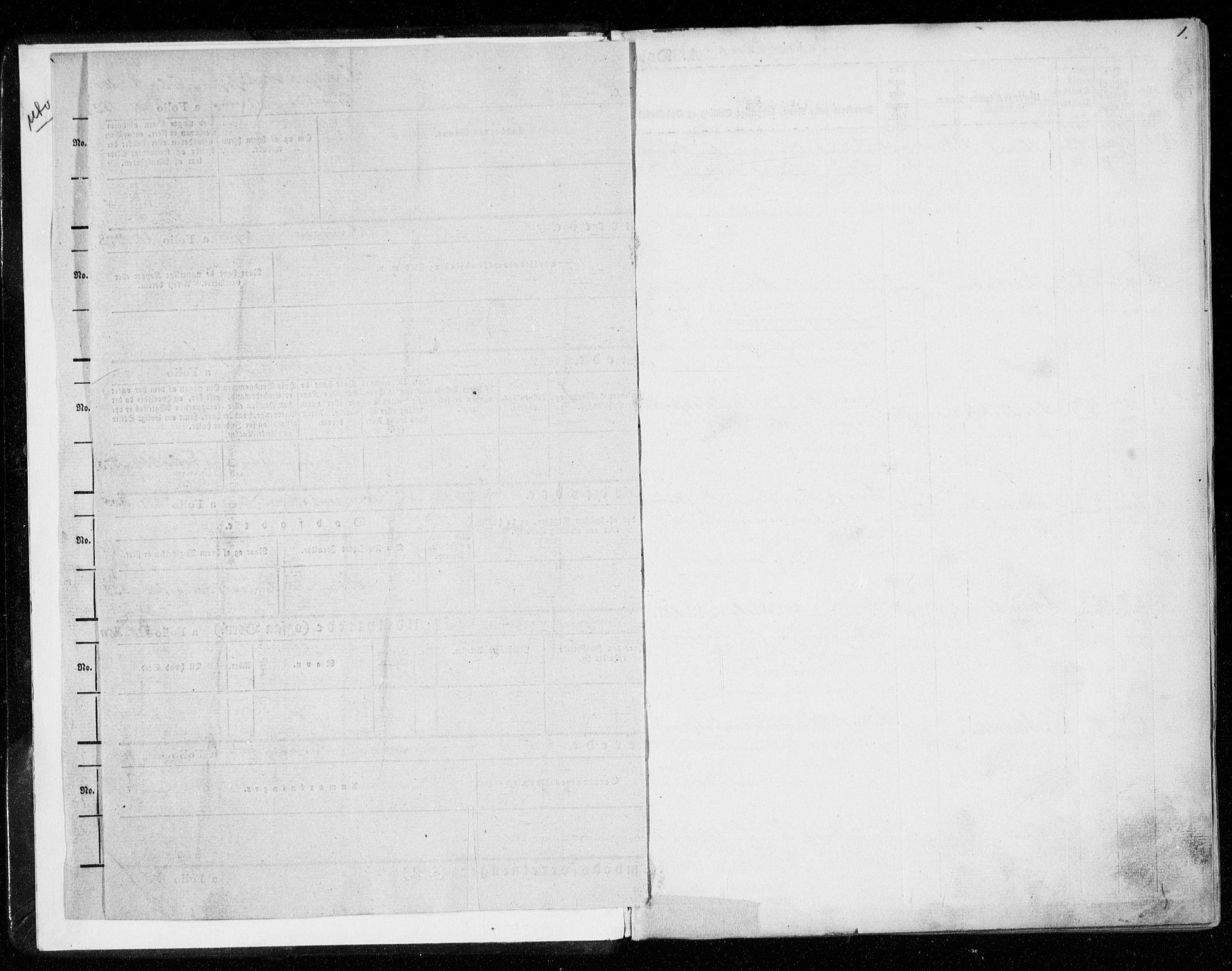 SAT, Ministerialprotokoller, klokkerbøker og fødselsregistre - Nord-Trøndelag, 701/L0007: Ministerialbok nr. 701A07 /1, 1842-1854, s. 1