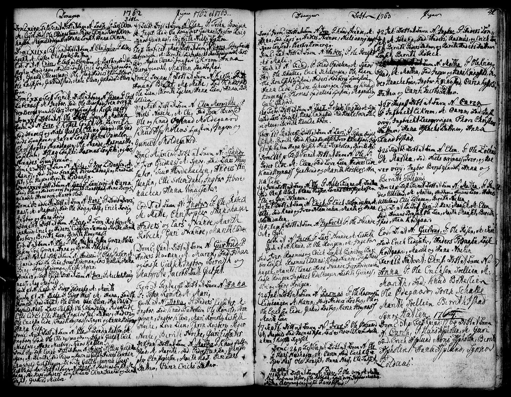 SAT, Ministerialprotokoller, klokkerbøker og fødselsregistre - Møre og Romsdal, 555/L0648: Ministerialbok nr. 555A01, 1759-1793, s. 41