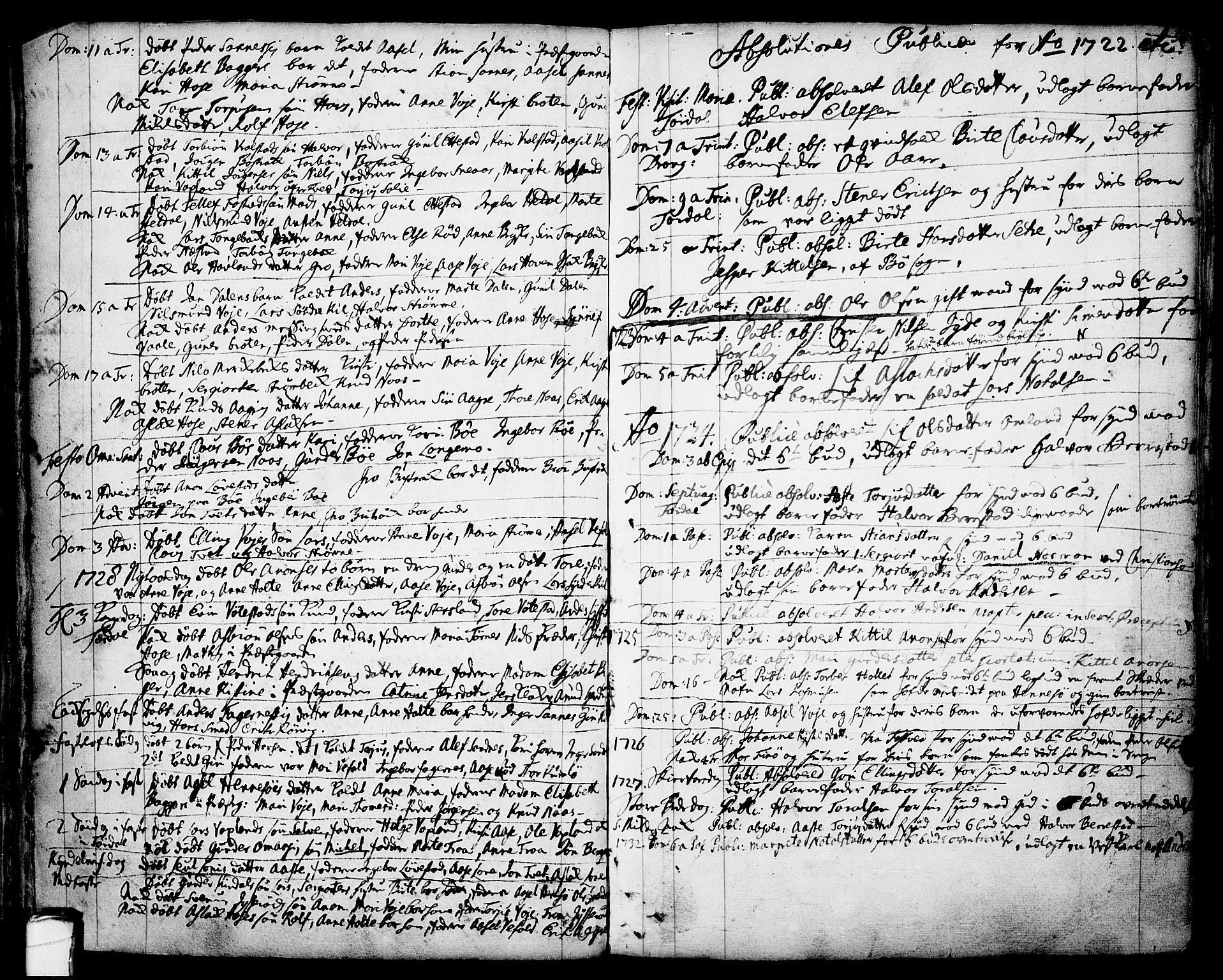 SAKO, Drangedal kirkebøker, F/Fa/L0001: Ministerialbok nr. 1, 1697-1767, s. 50